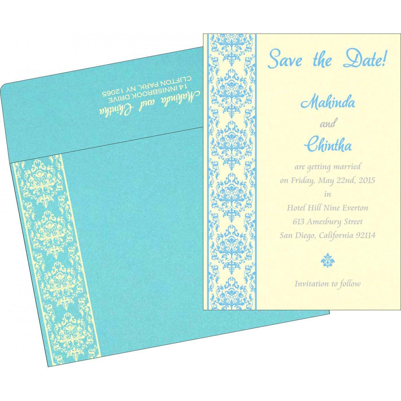 Save The Date Cards : STD-8253E - 123WeddingCards