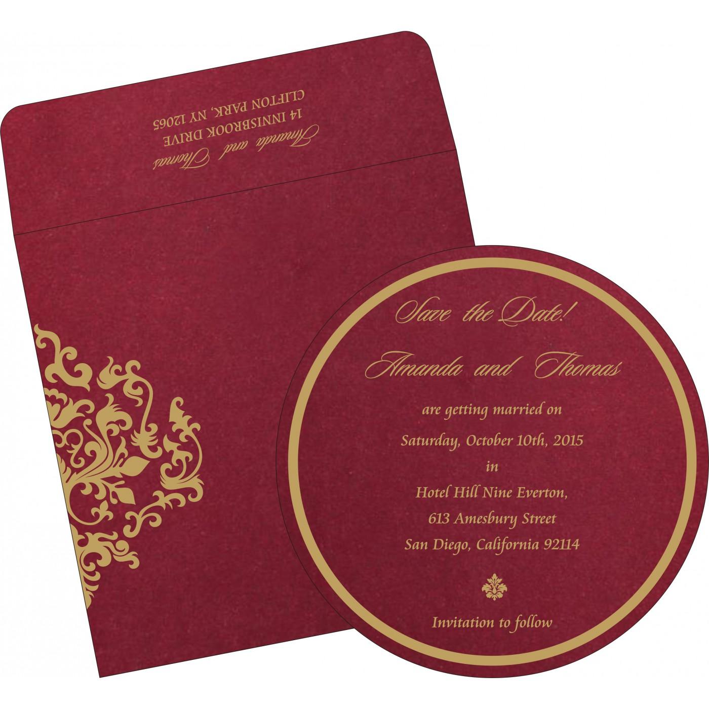 Save The Date Cards : STD-8254B - 123WeddingCards