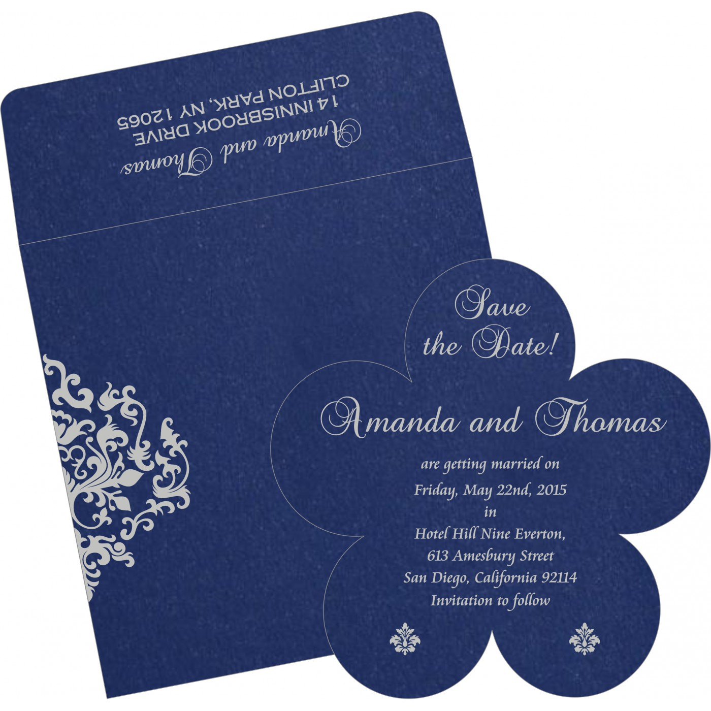 Save The Date Cards : STD-8254C - 123WeddingCards