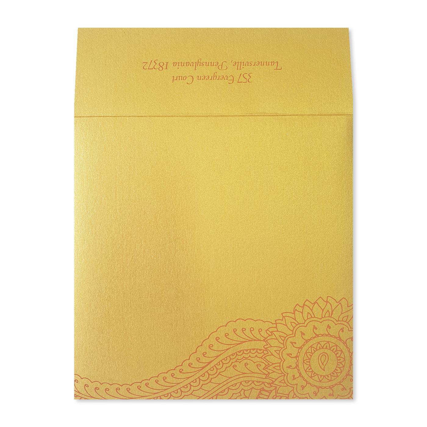 Save The Date Cards : STD-ATOMIC_TANGERINE - 123WeddingCards