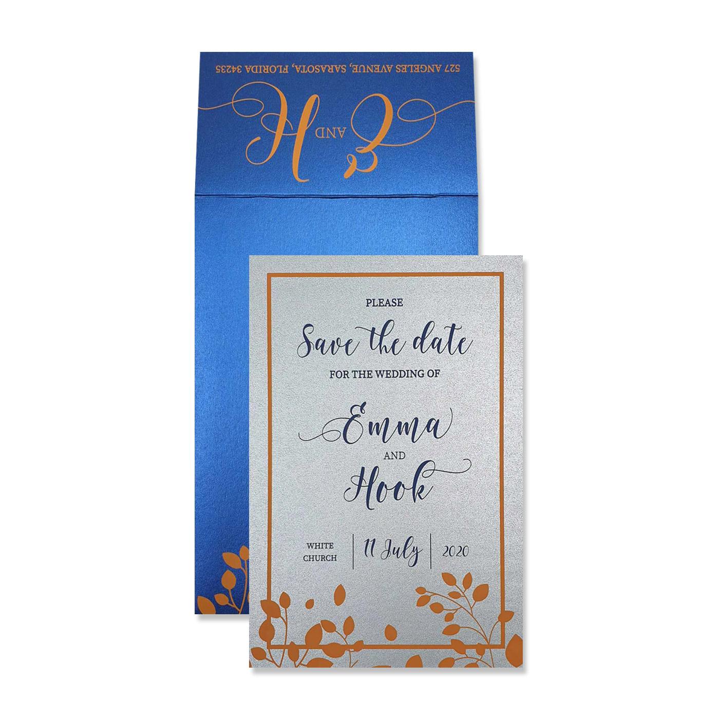 Save The Date Cards : STD-BOTANICAL - 123WeddingCards