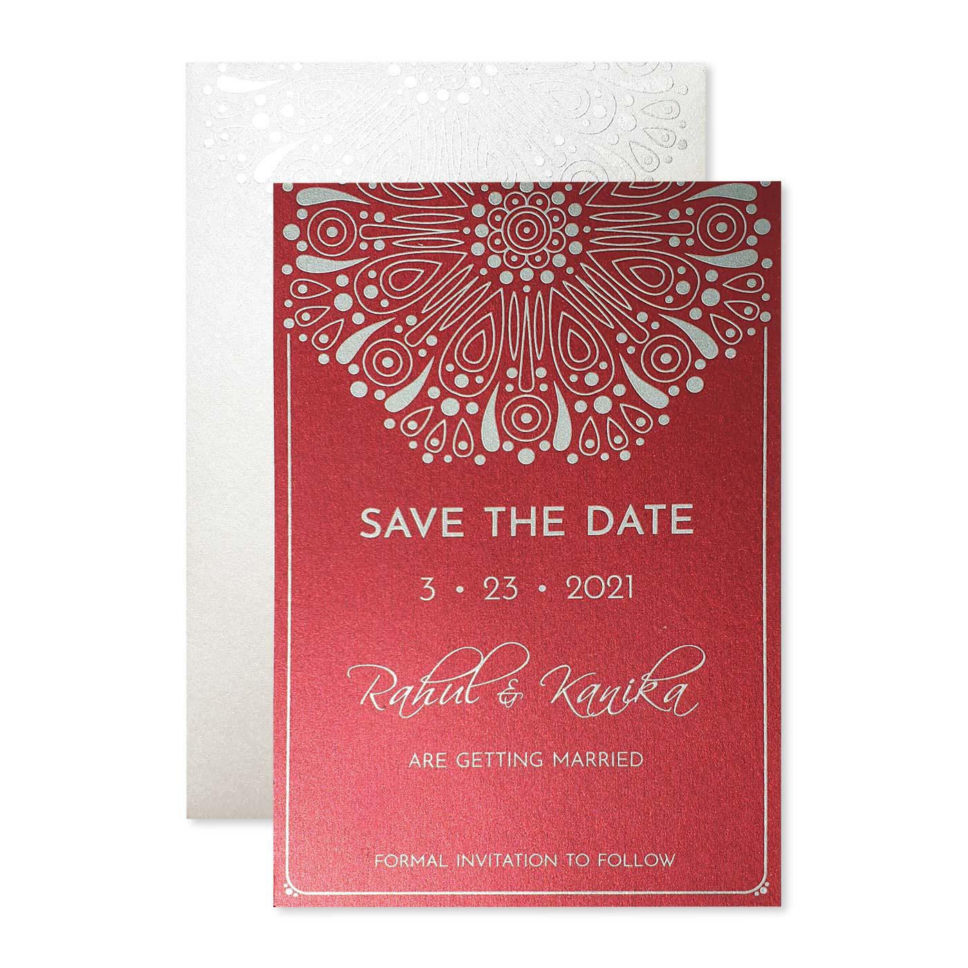 Save The Date Cards : STD-CHERRY_CRUSH - 123WeddingCards