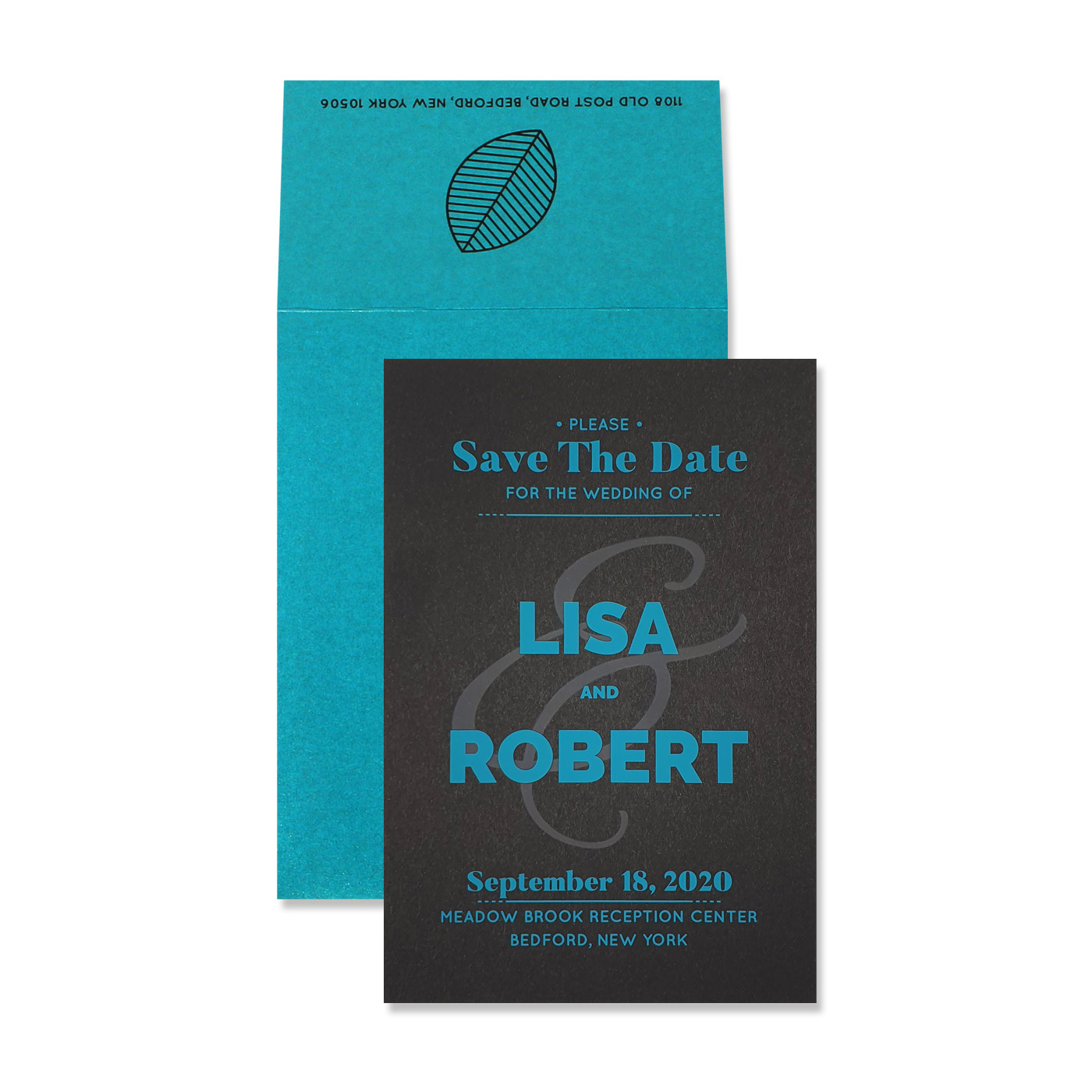Save The Date Cards : STD-CRISPY_RAY - 123WeddingCards