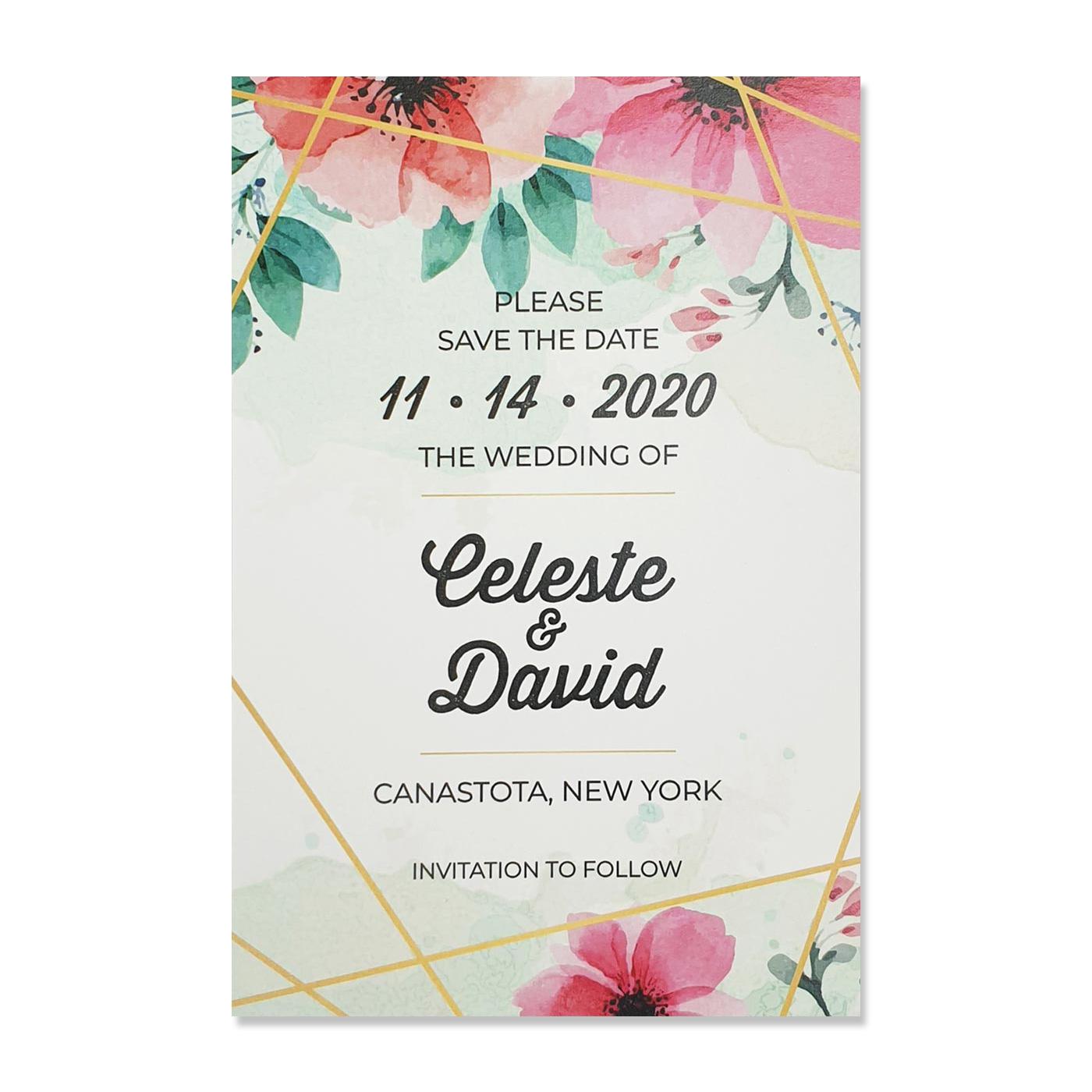 Save The Date Cards : STD-GRASSLAND - 123WeddingCards
