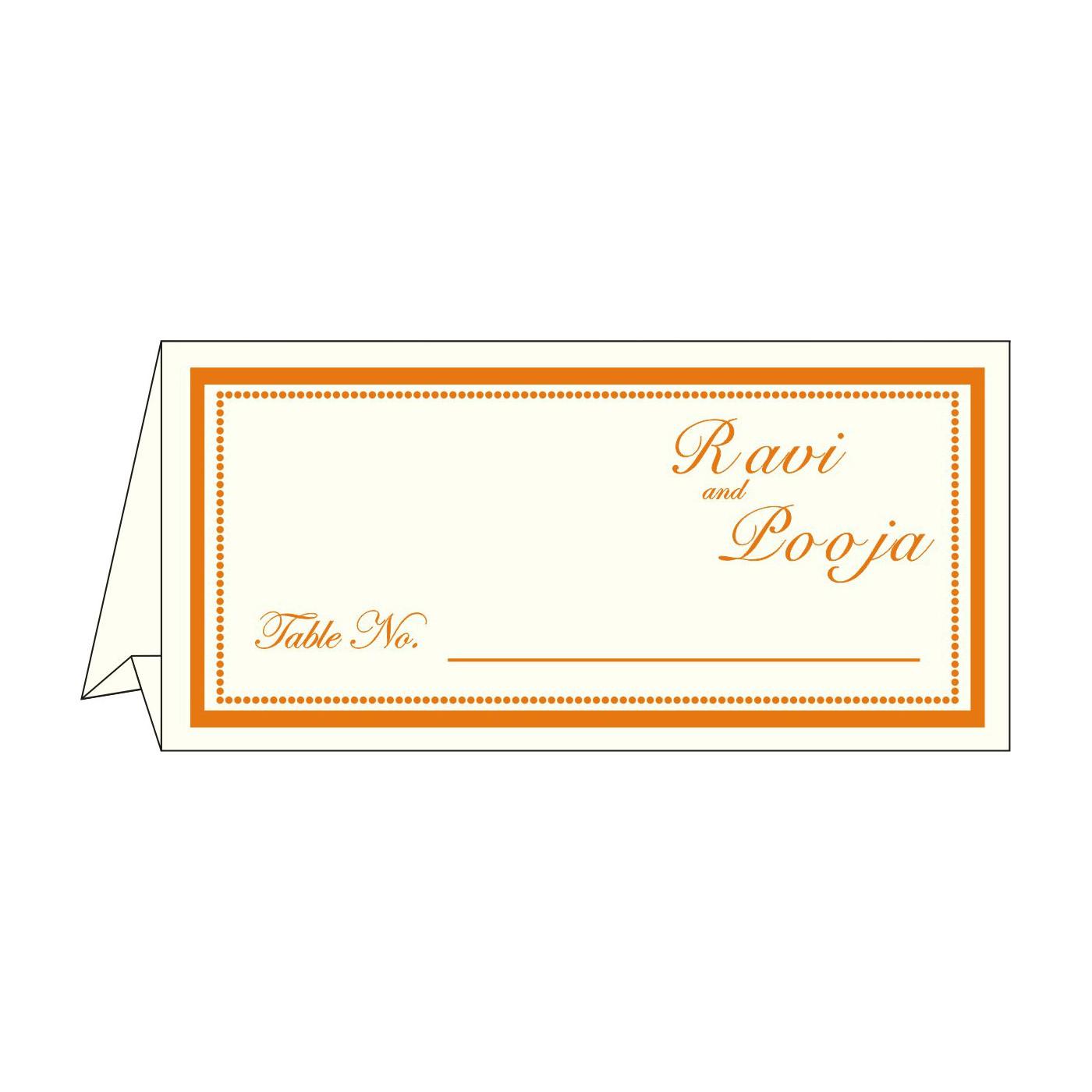 Place Cards : TC-1183 - 123WeddingCards