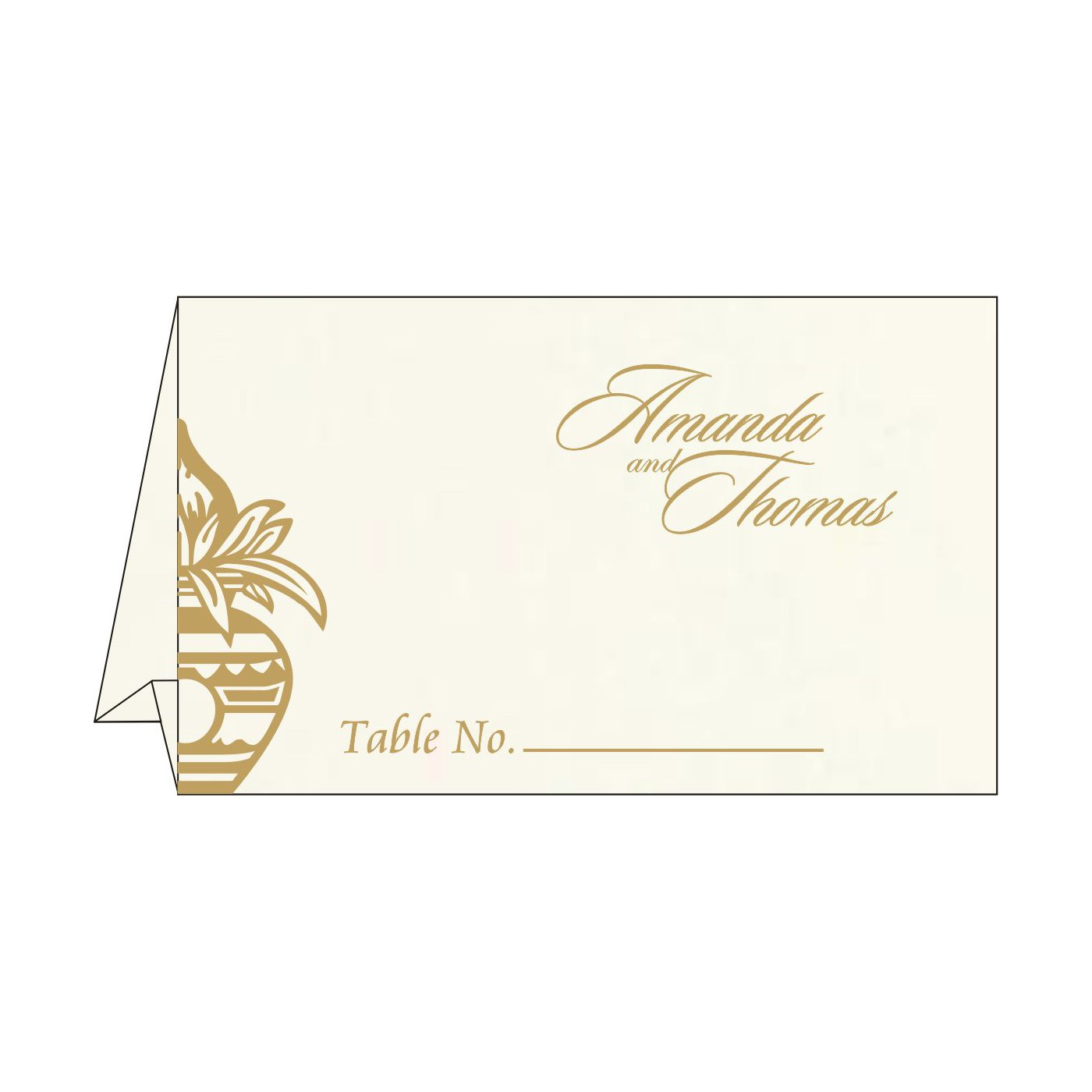 Place Cards : TC-1188 - 123WeddingCards