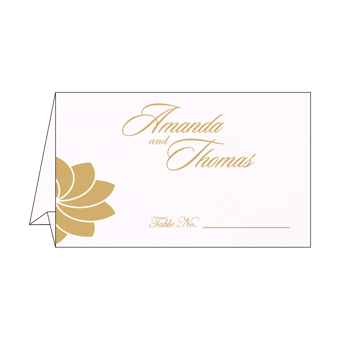 Place Cards : TC-1228 - 123WeddingCards