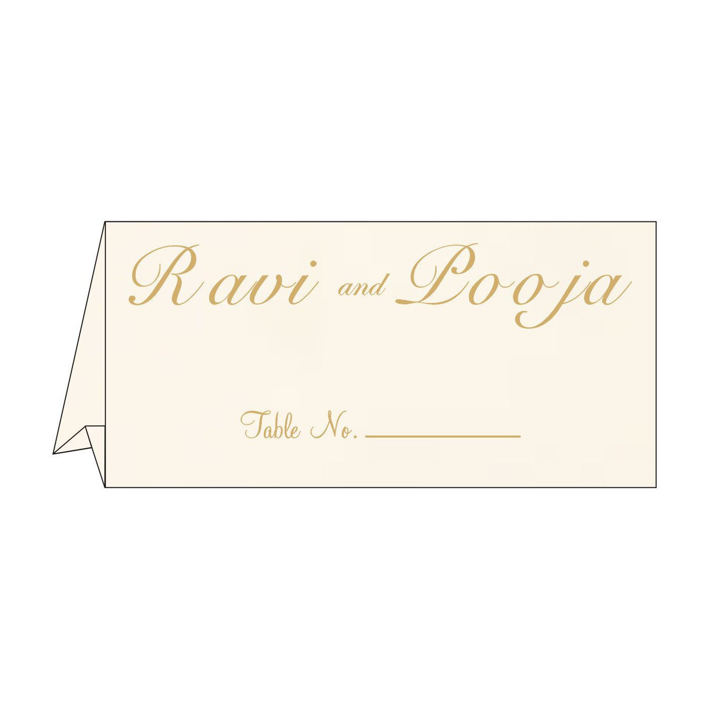 Place Cards : TC-1236 - 123WeddingCards