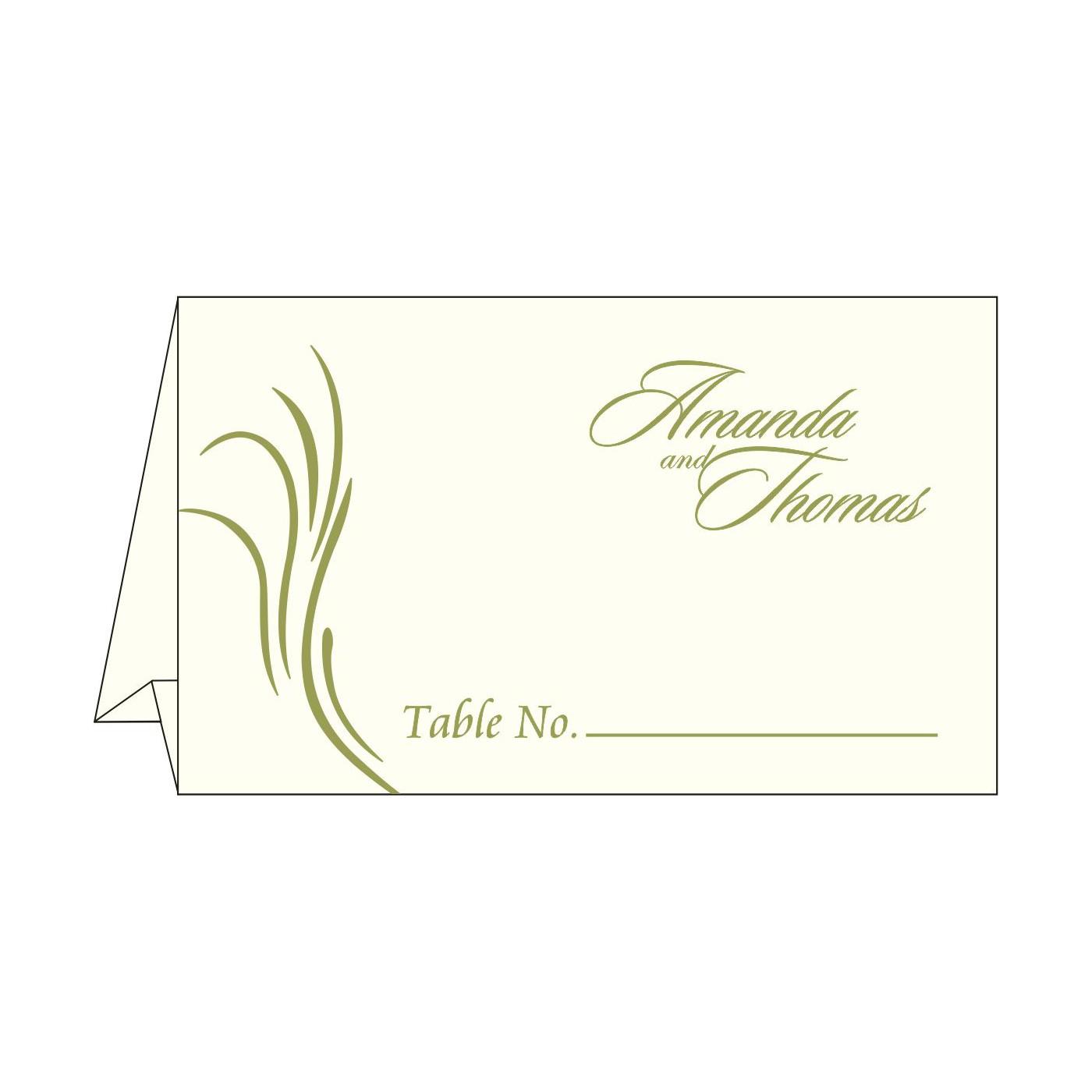 Place Cards : TC-1317 - 123WeddingCards