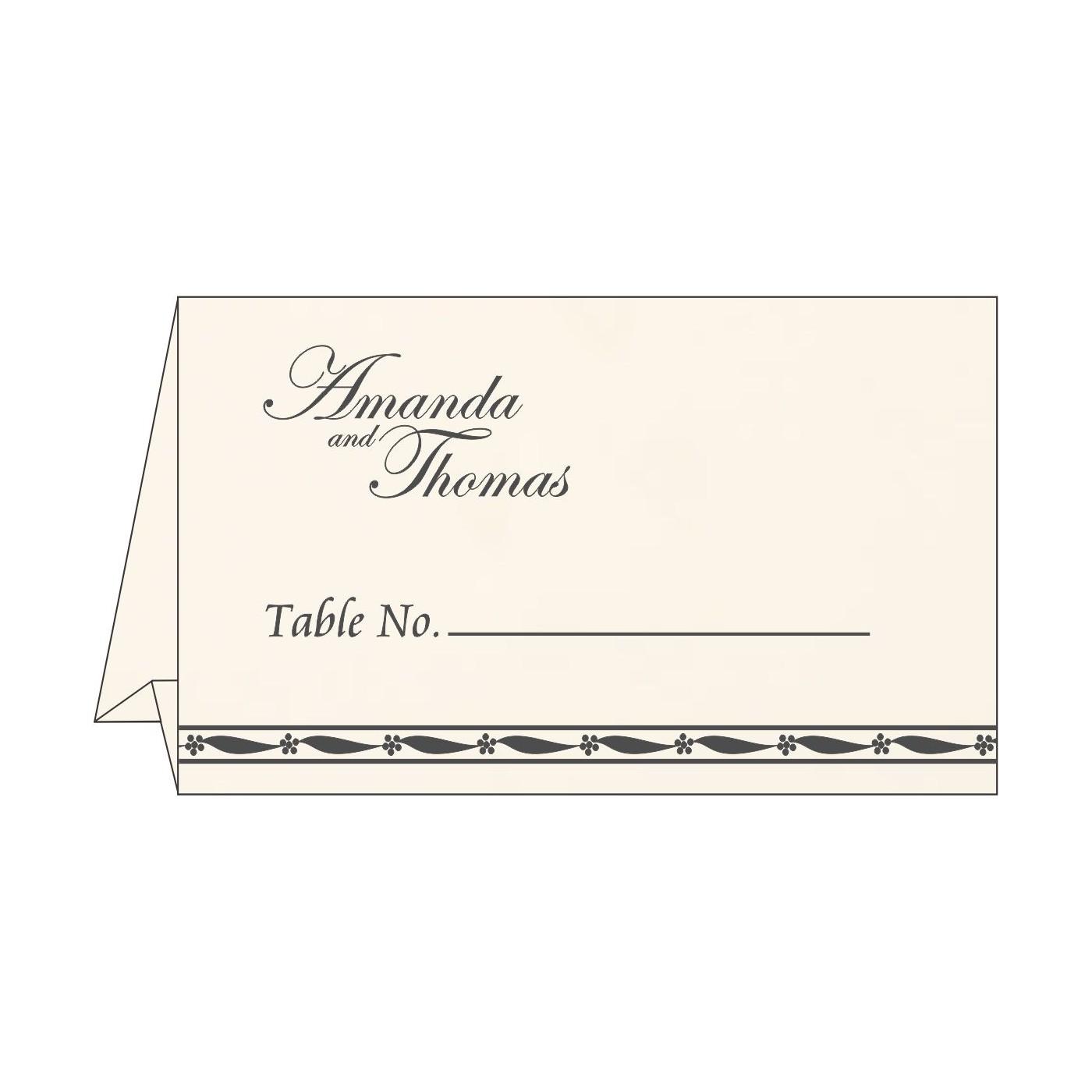 Place Cards : TC-1328 - 123WeddingCards