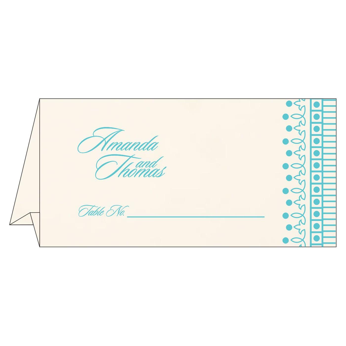 Place Cards : TC-1338 - 123WeddingCards