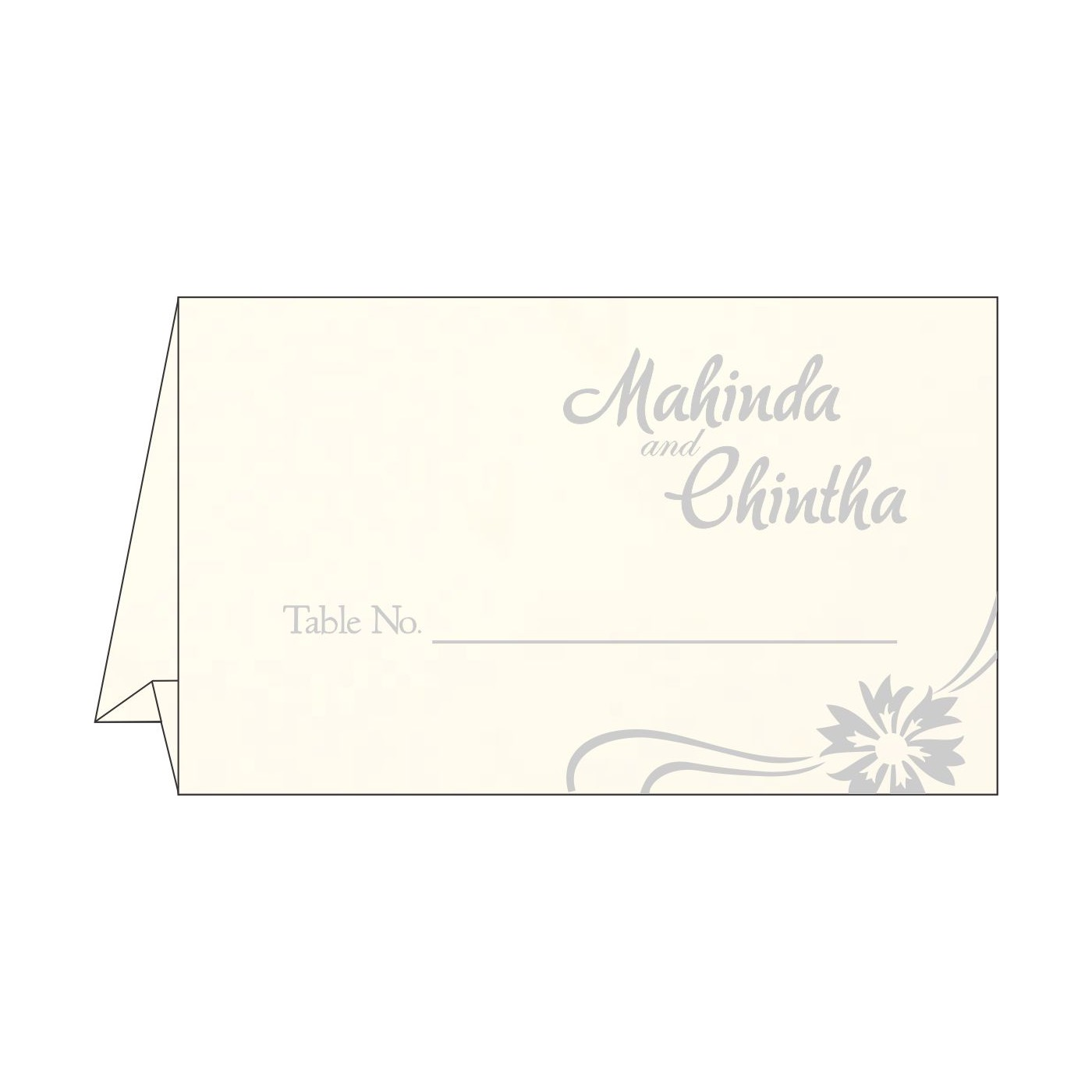 Place Cards : TC-1380 - 123WeddingCards