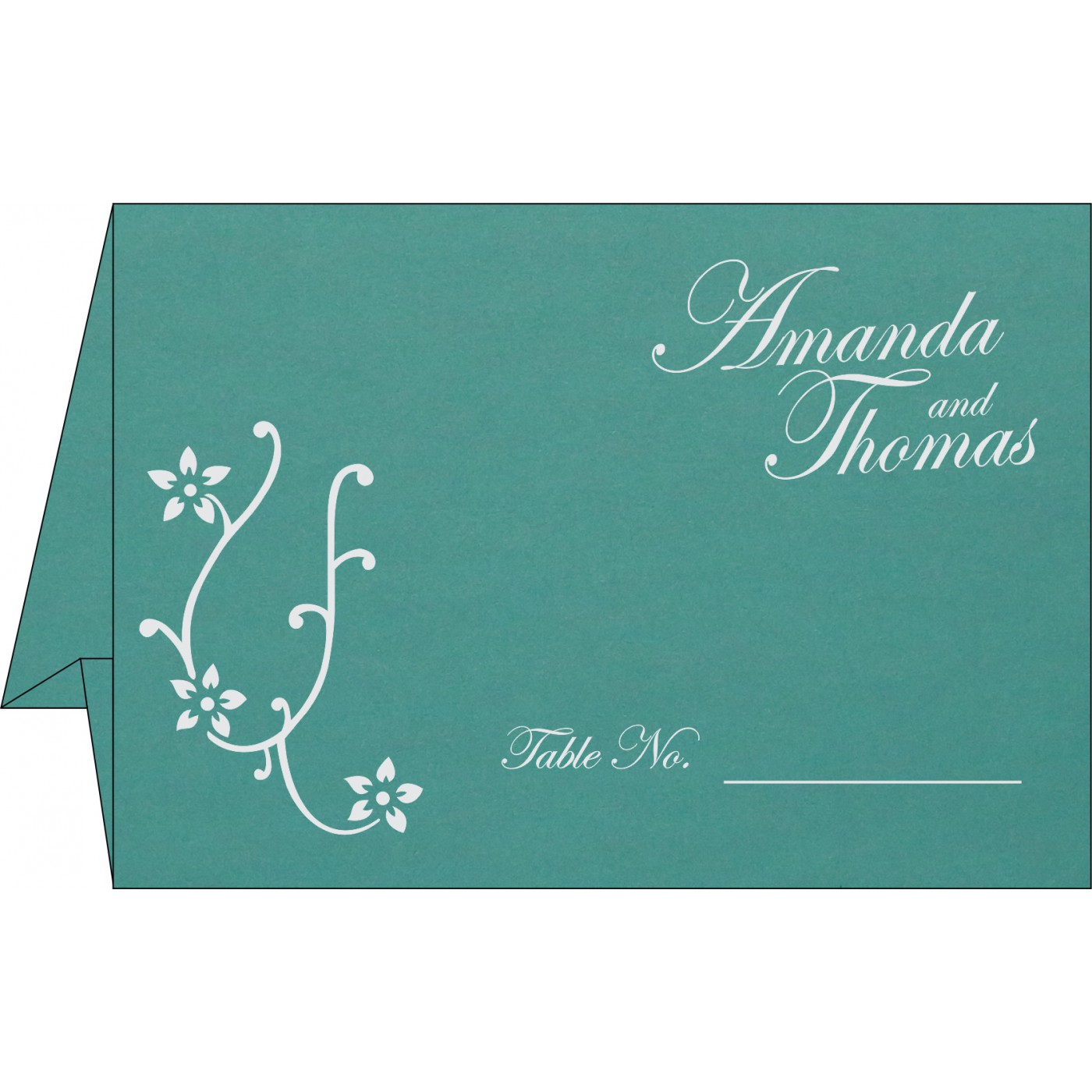Place Cards : TC-1400 - 123WeddingCards
