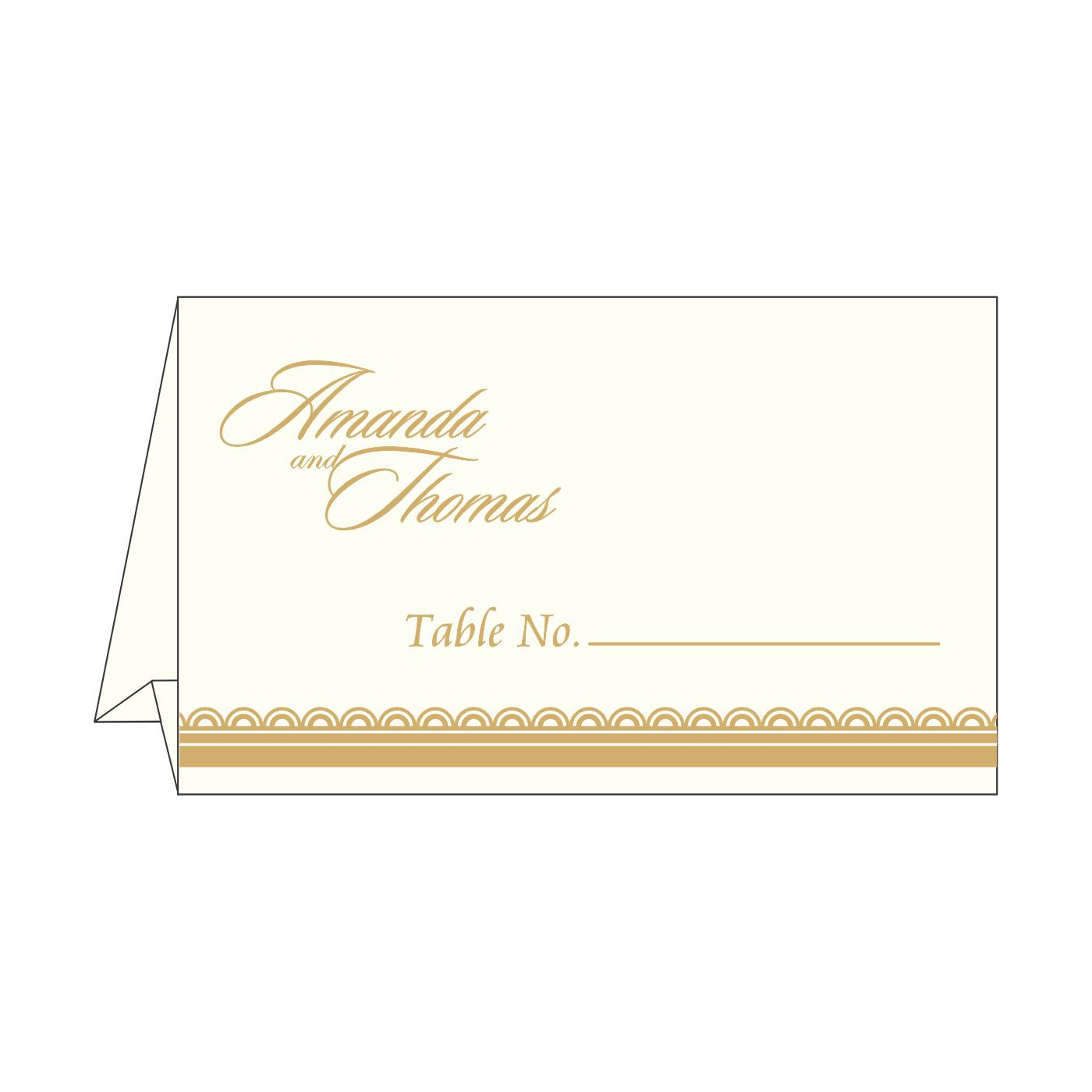 Place Cards : TC-1402 - 123WeddingCards