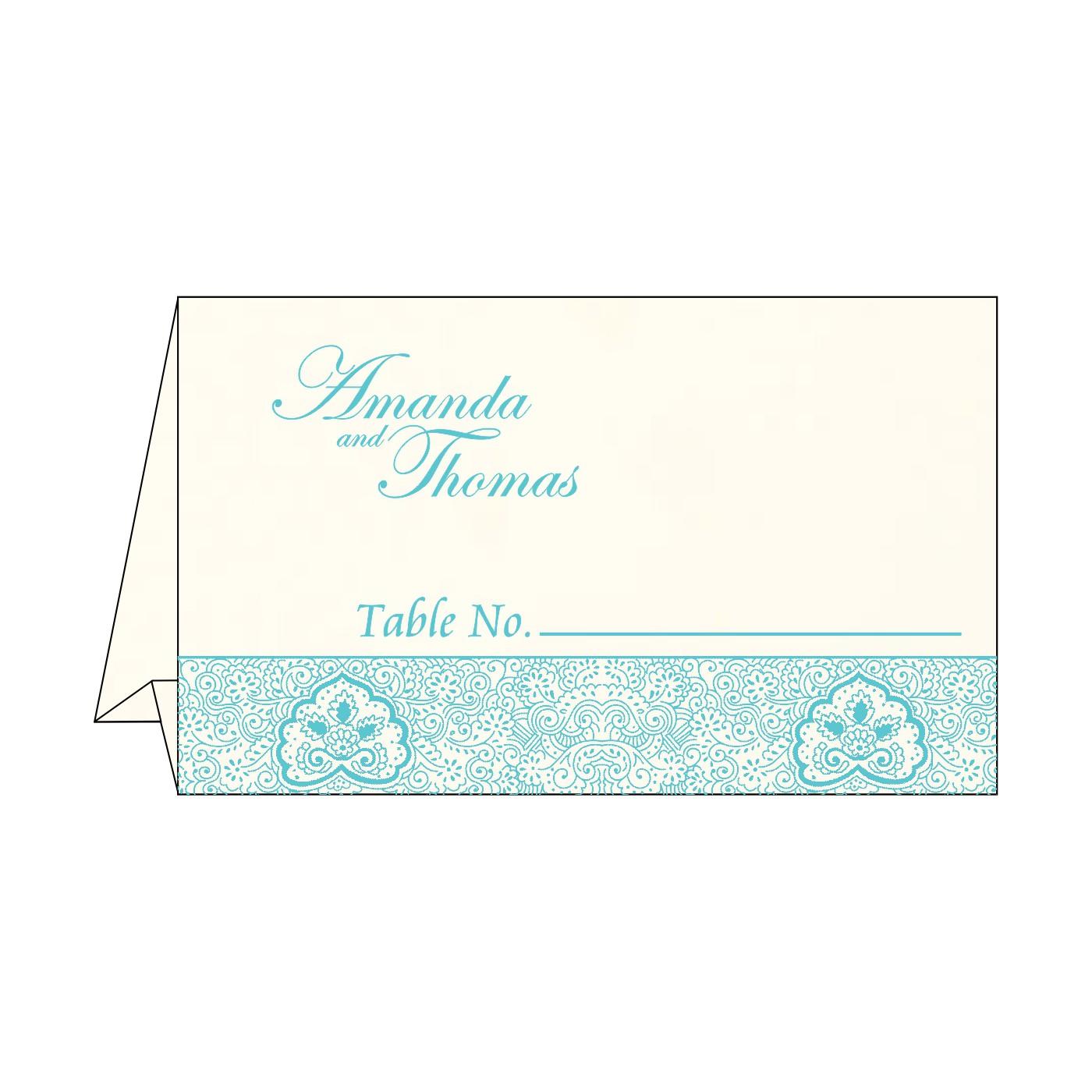 Place Cards : TC-1410 - 123WeddingCards