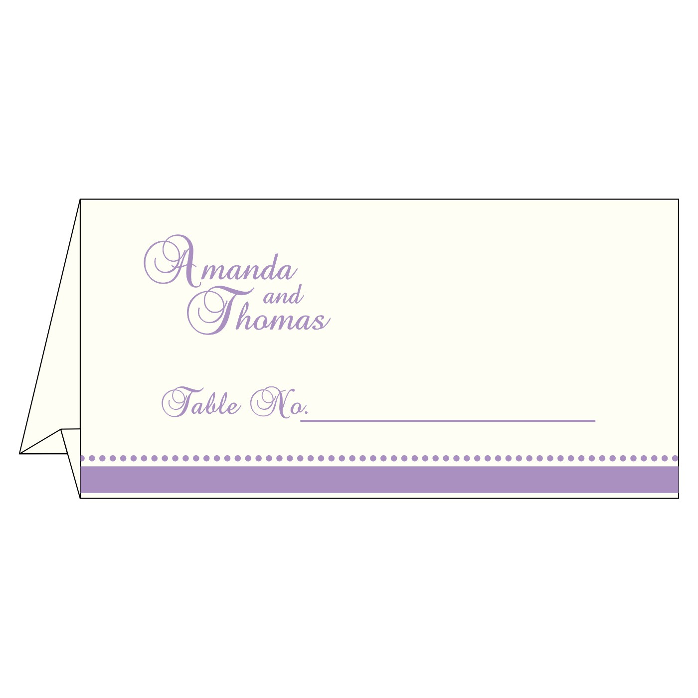 Place Cards : TC-1431 - 123WeddingCards