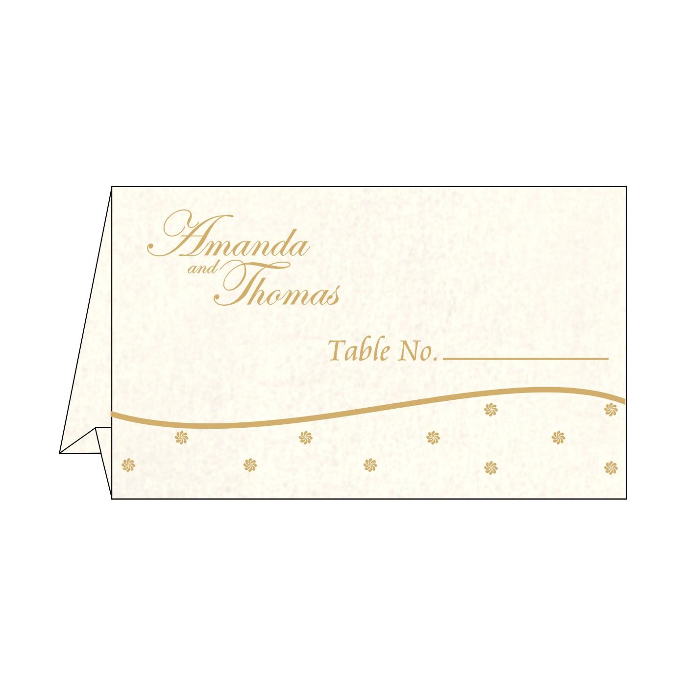 Place Cards : TC-1435 - 123WeddingCards