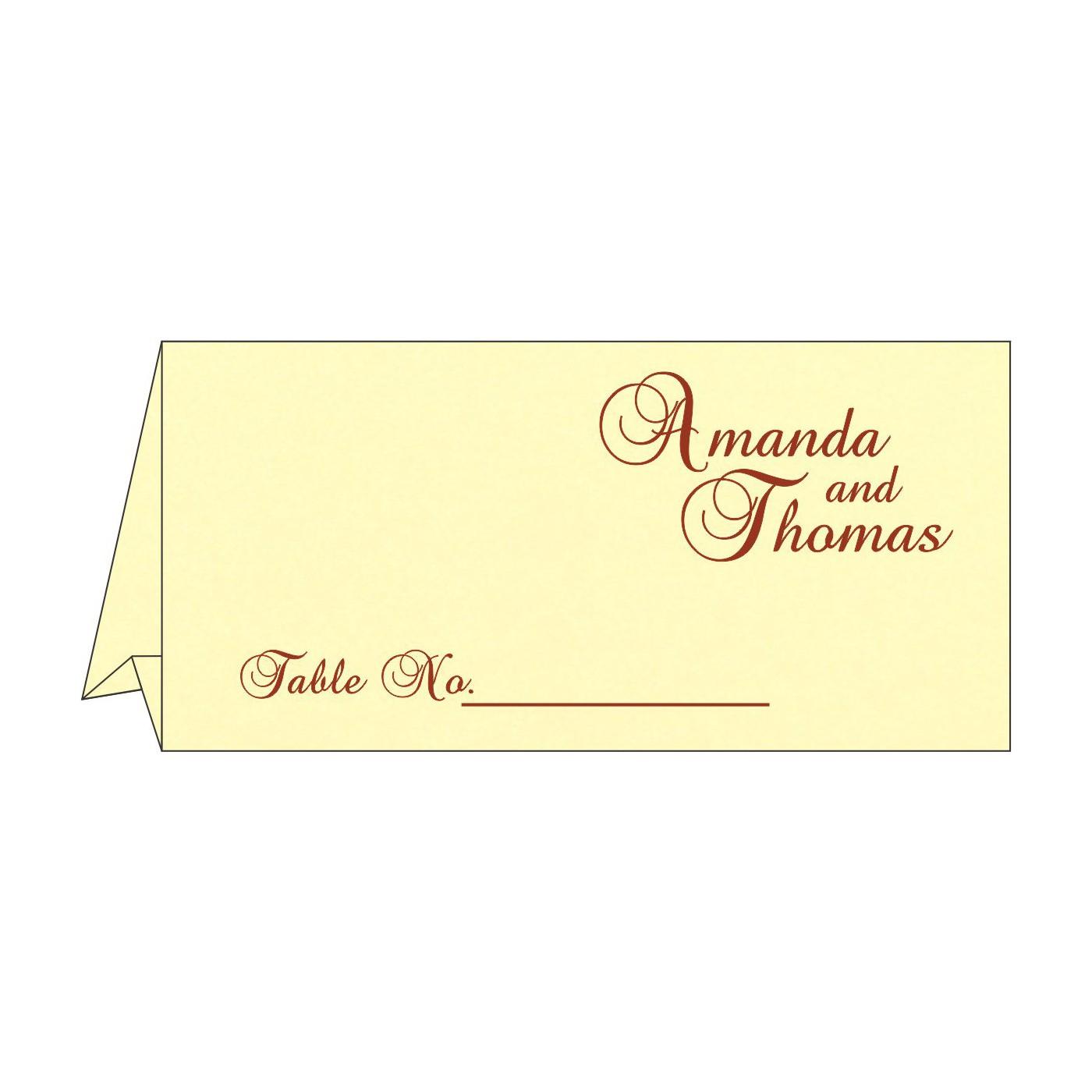 Place Cards : TC-1471 - 123WeddingCards