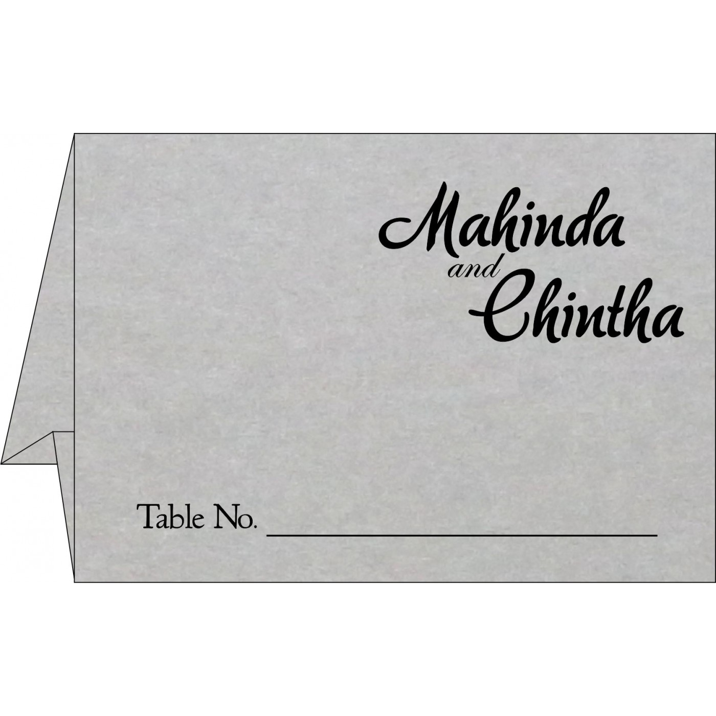 Place Cards : TC-1498 - 123WeddingCards