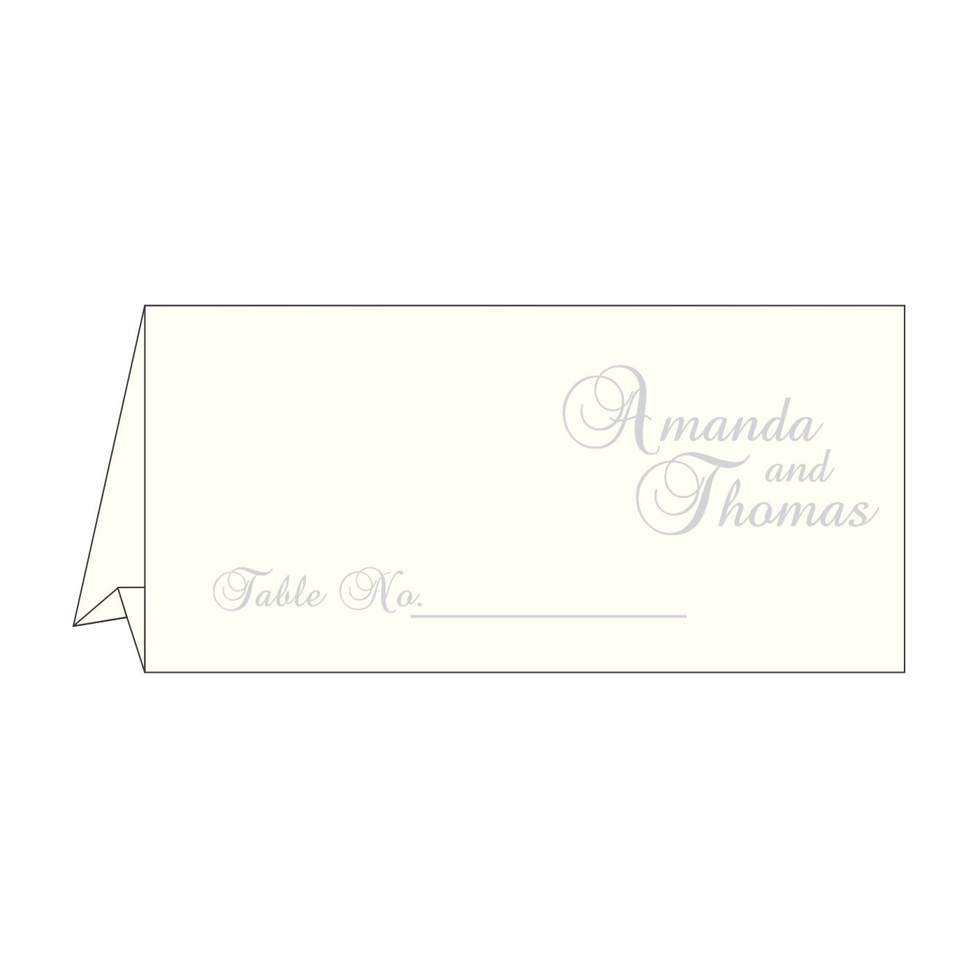 Place Cards : TC-2068 - 123WeddingCards