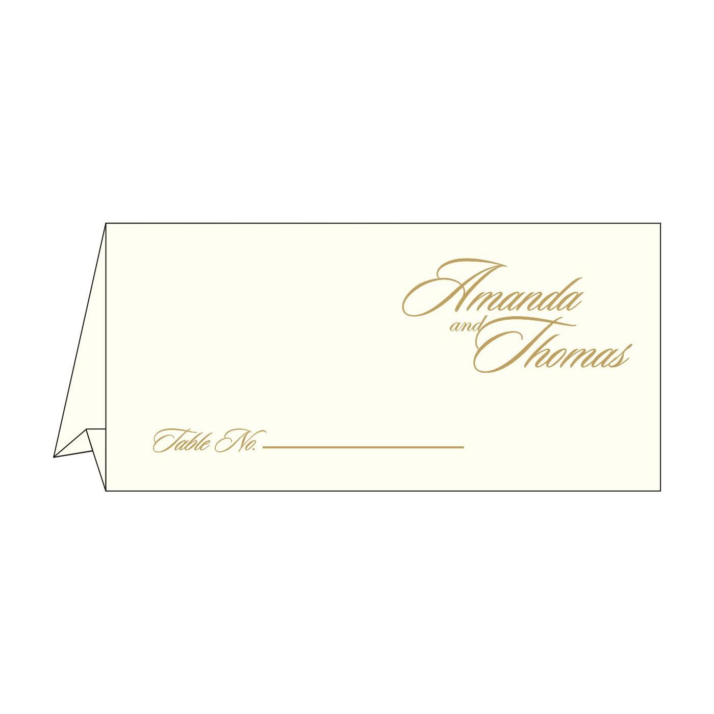 Place Cards : TC-2169 - 123WeddingCards