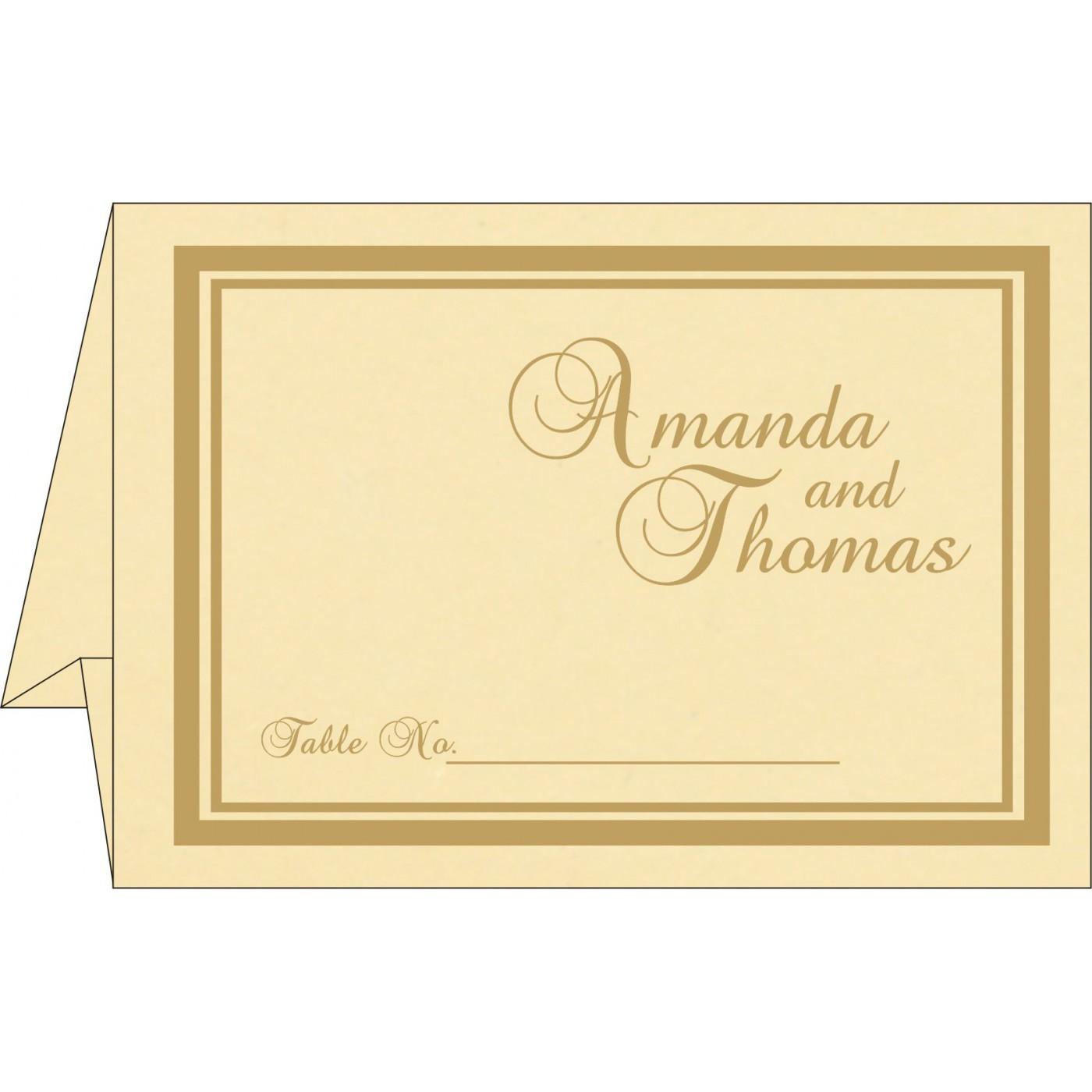 Place Cards : TC-2177 - 123WeddingCards