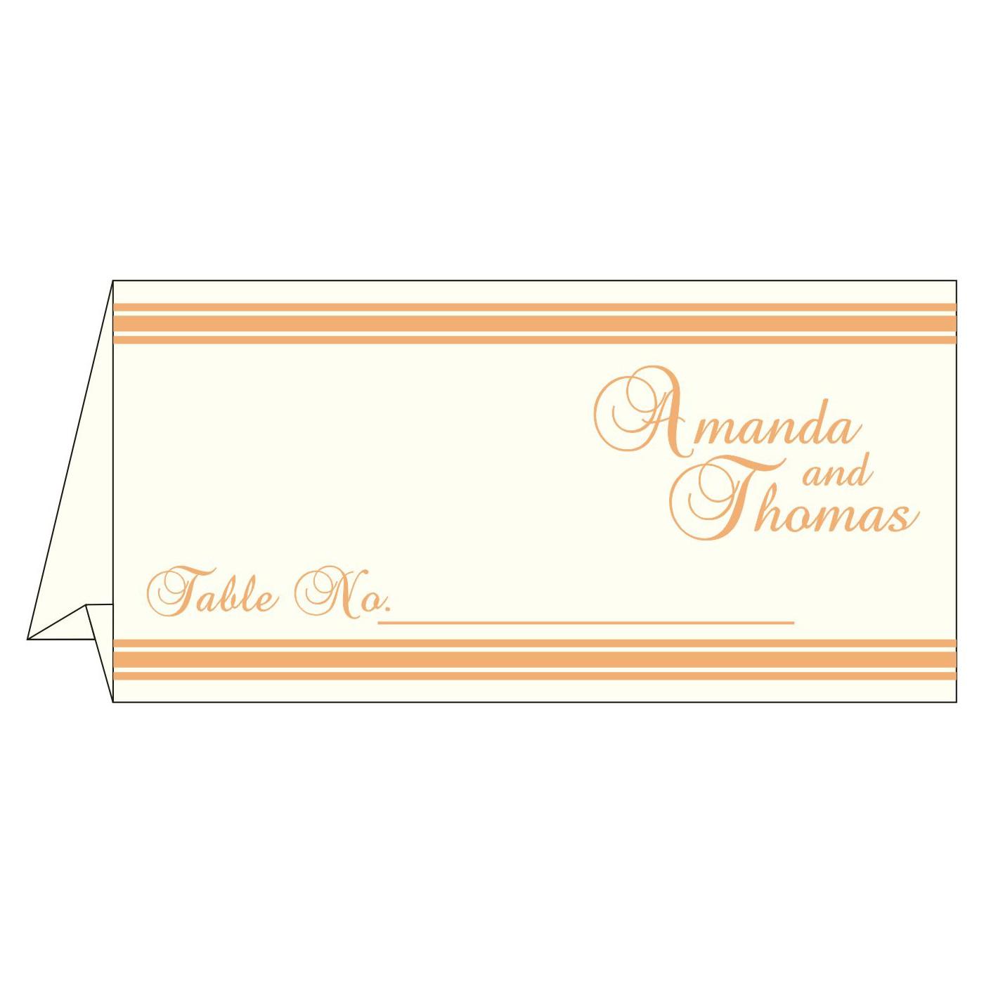Place Cards : TC-2203 - 123WeddingCards
