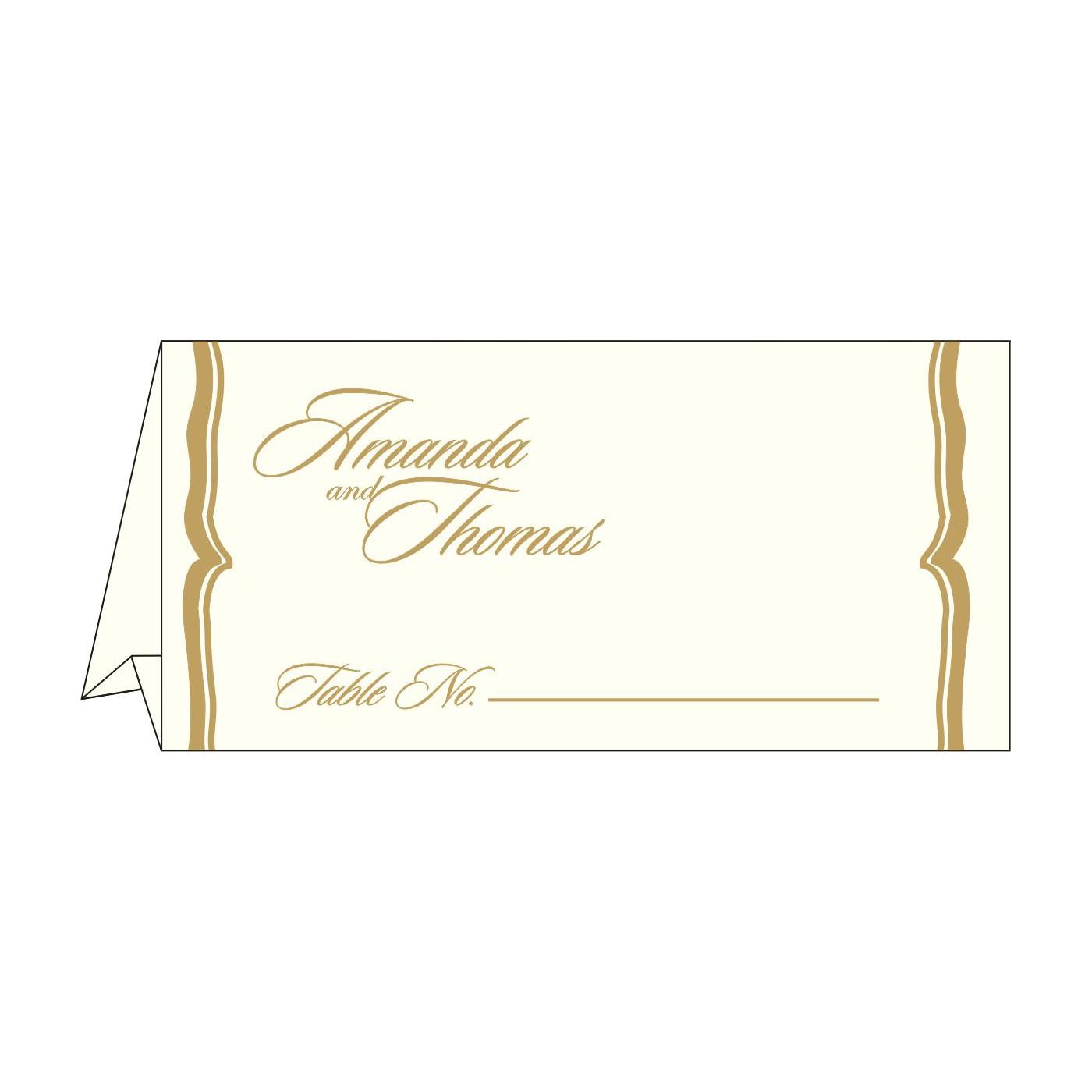 Place Cards : TC-2219 - 123WeddingCards