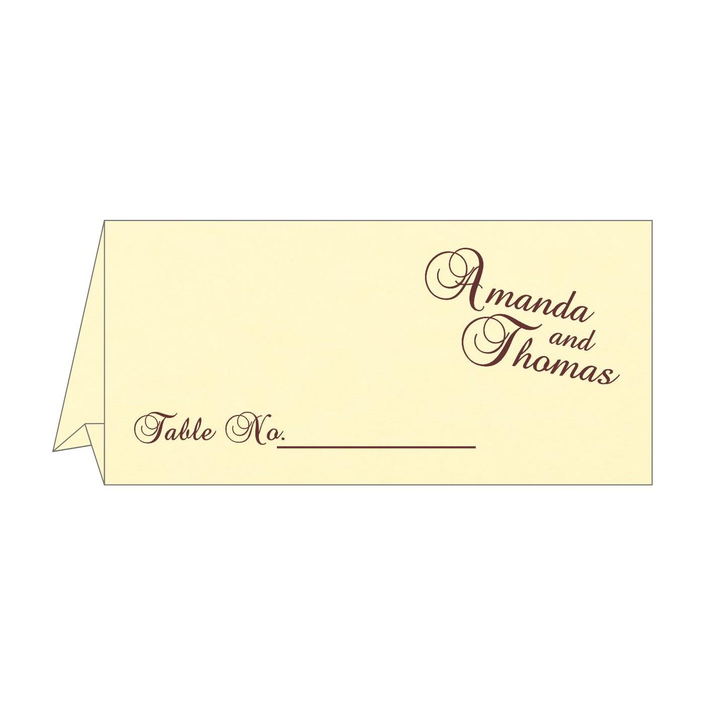 Place Cards : TC-2275 - 123WeddingCards
