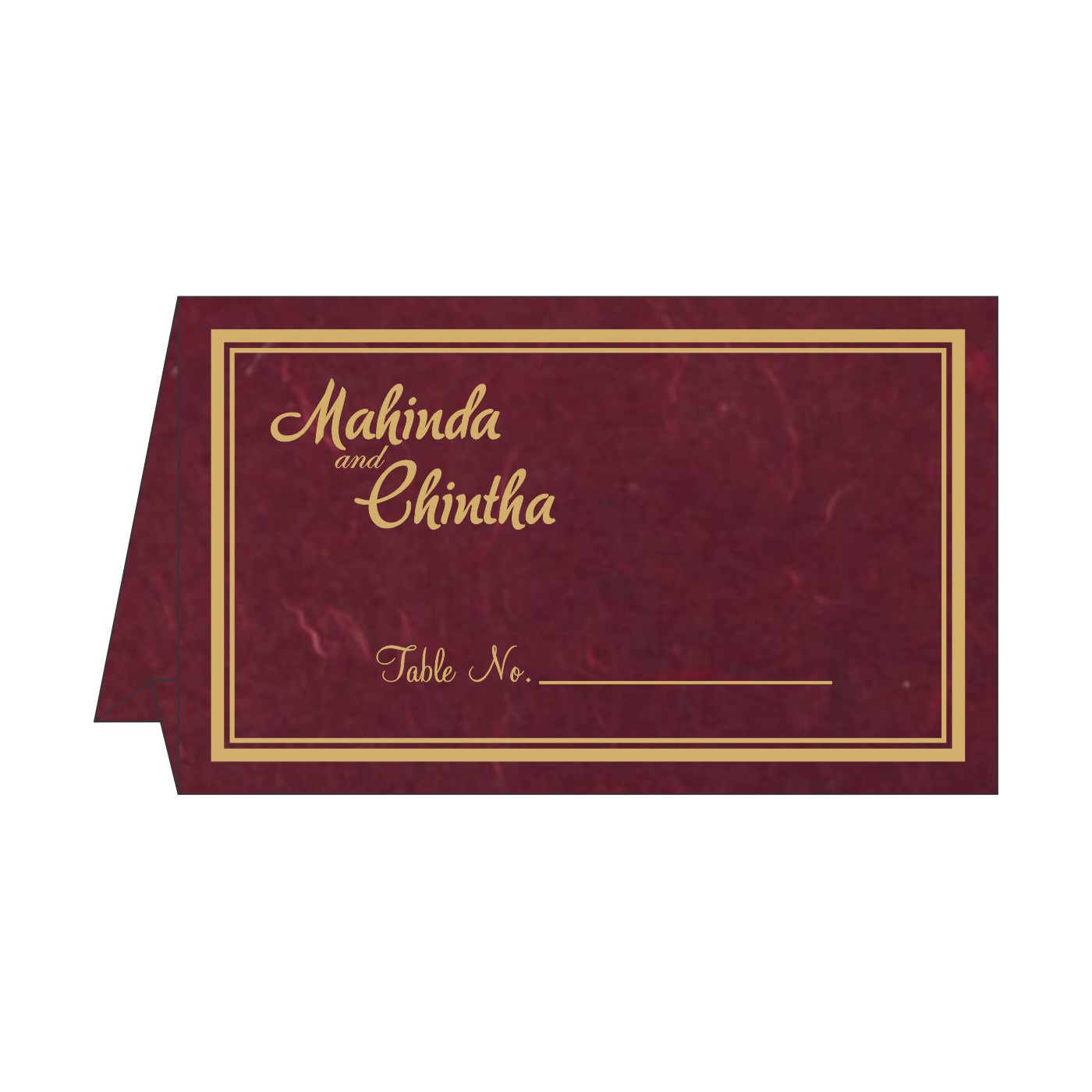 Place Cards : TC-8203K - 123WeddingCards