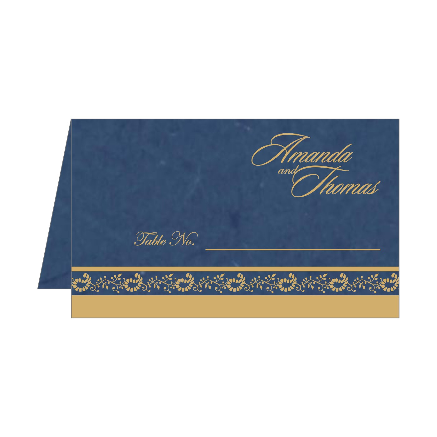 Place Cards : TC-8208B - 123WeddingCards