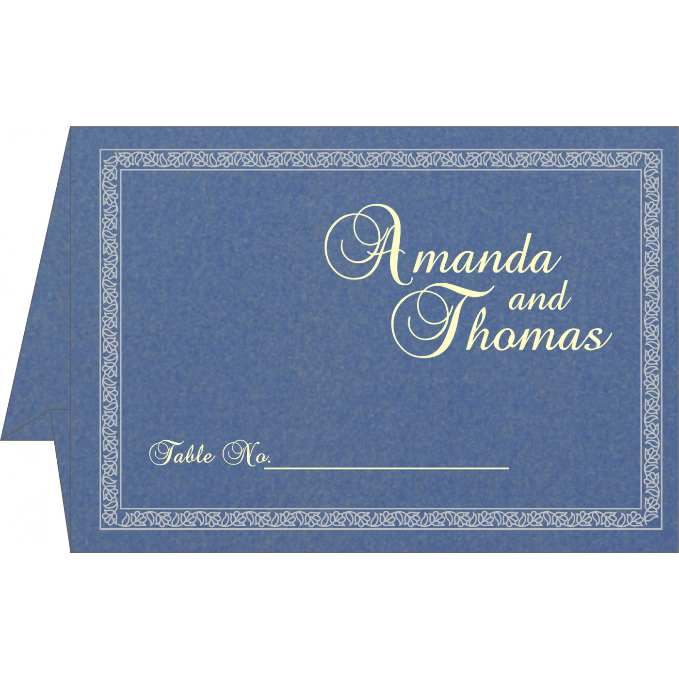 Place Cards : TC-8211O - 123WeddingCards