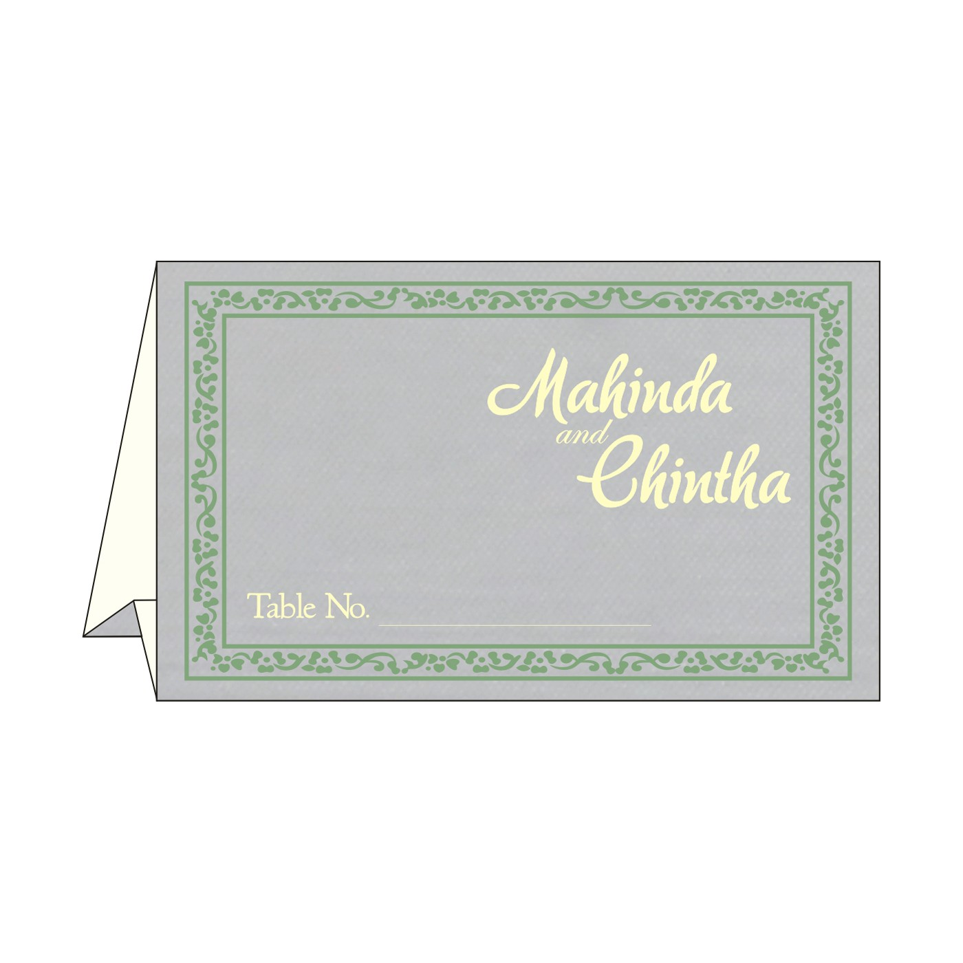 Place Cards : TC-8214P - 123WeddingCards