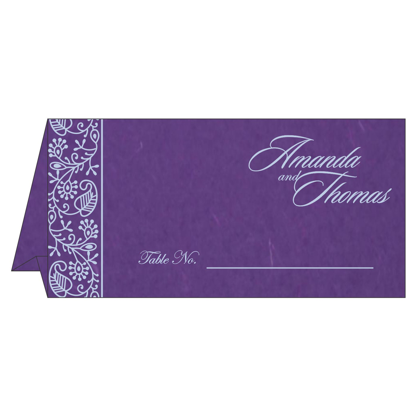 Place Cards : TC-8215G - 123WeddingCards