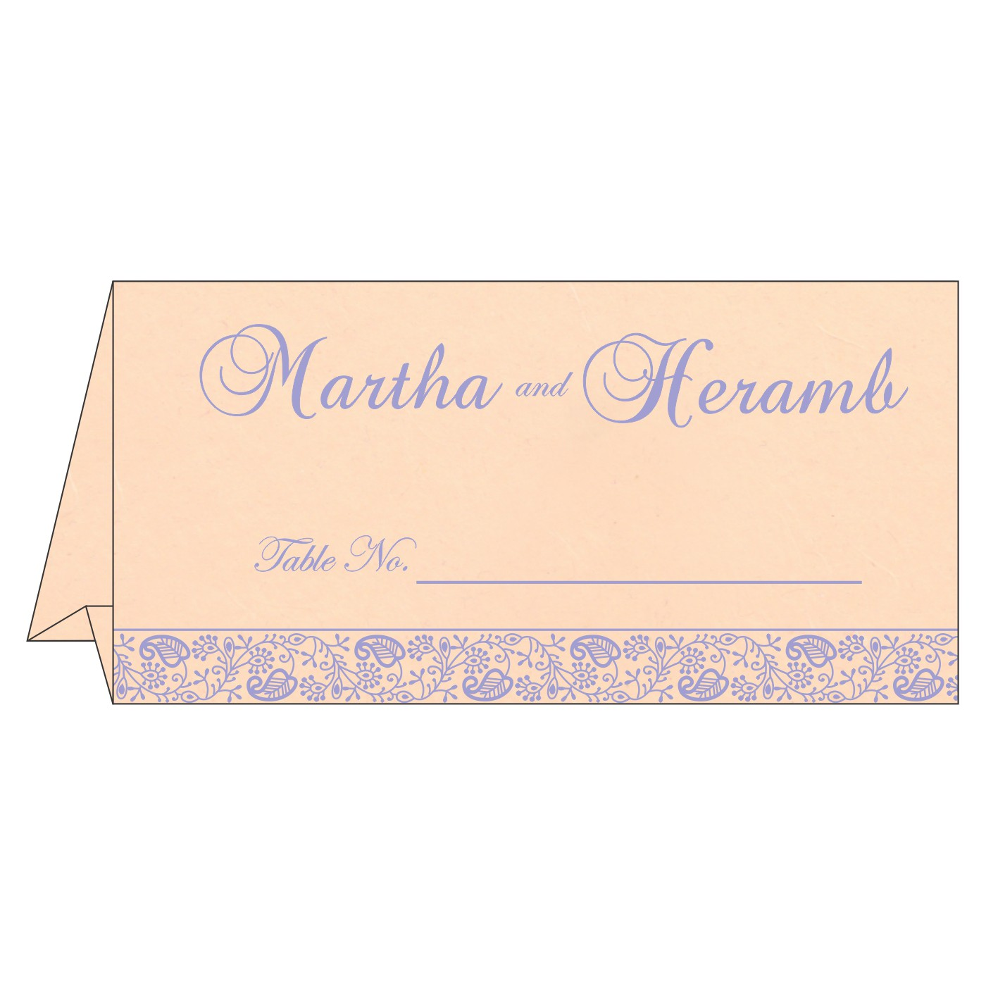 Place Cards : TC-8215M - 123WeddingCards
