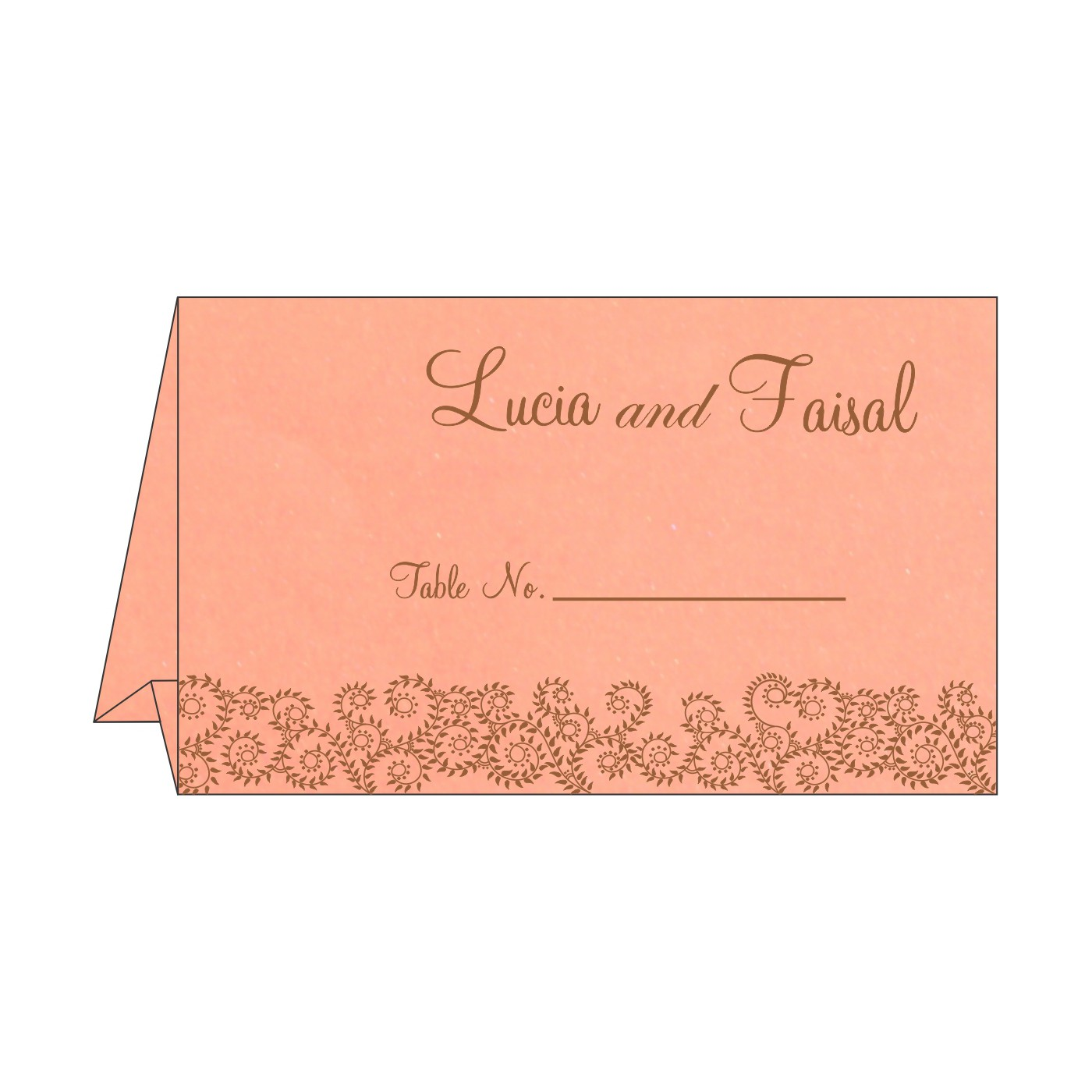 Place Cards : TC-8217N - 123WeddingCards