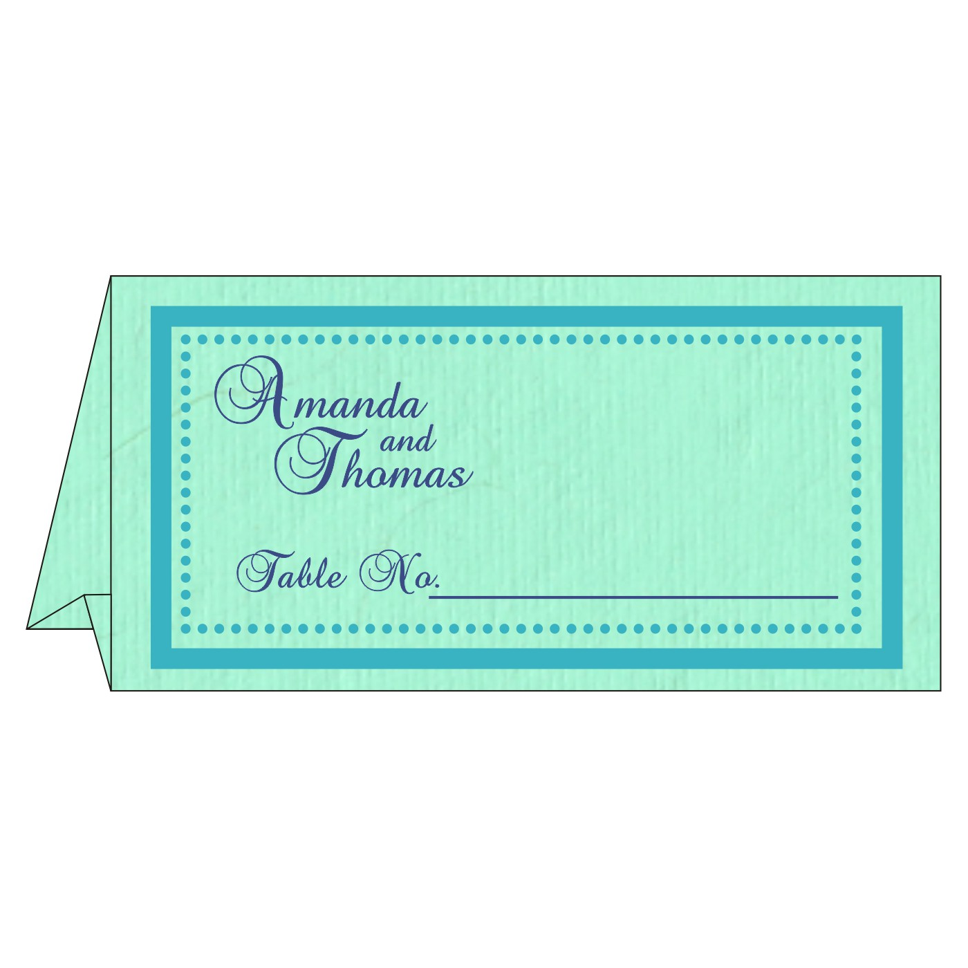 Place Cards : TC-8219C - 123WeddingCards