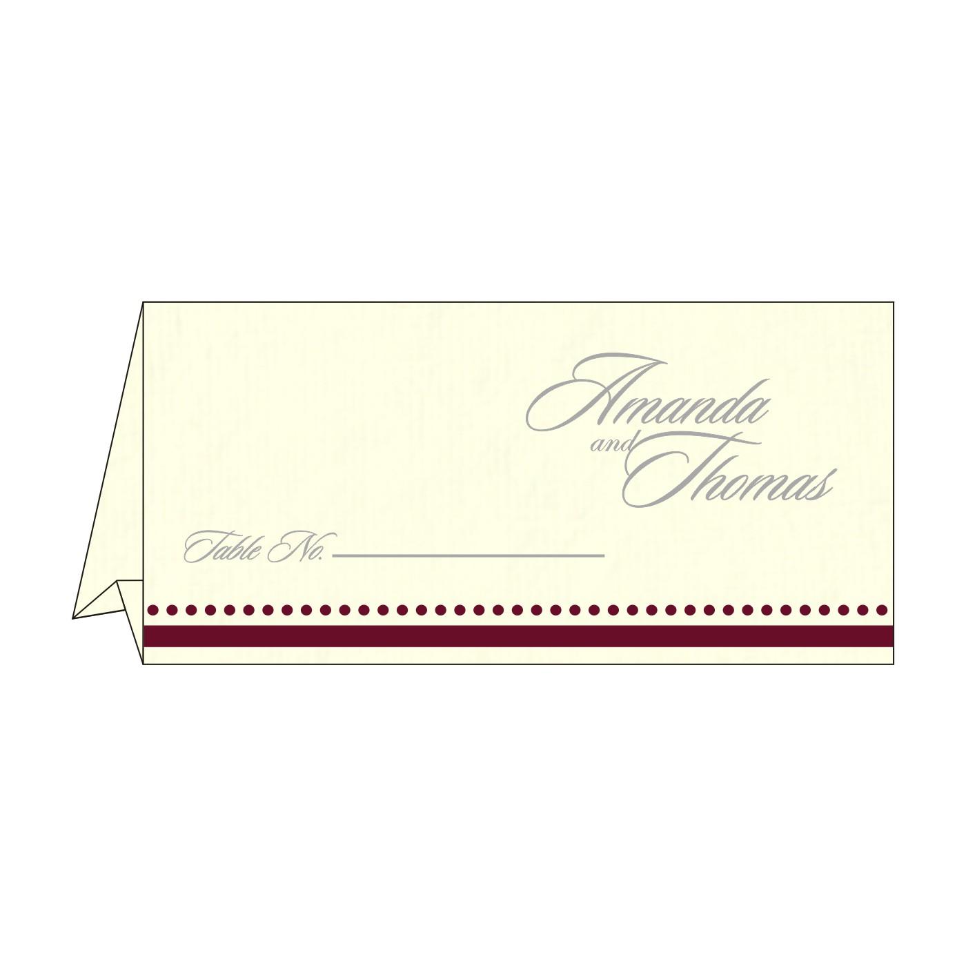 Place Cards : TC-8219L - 123WeddingCards