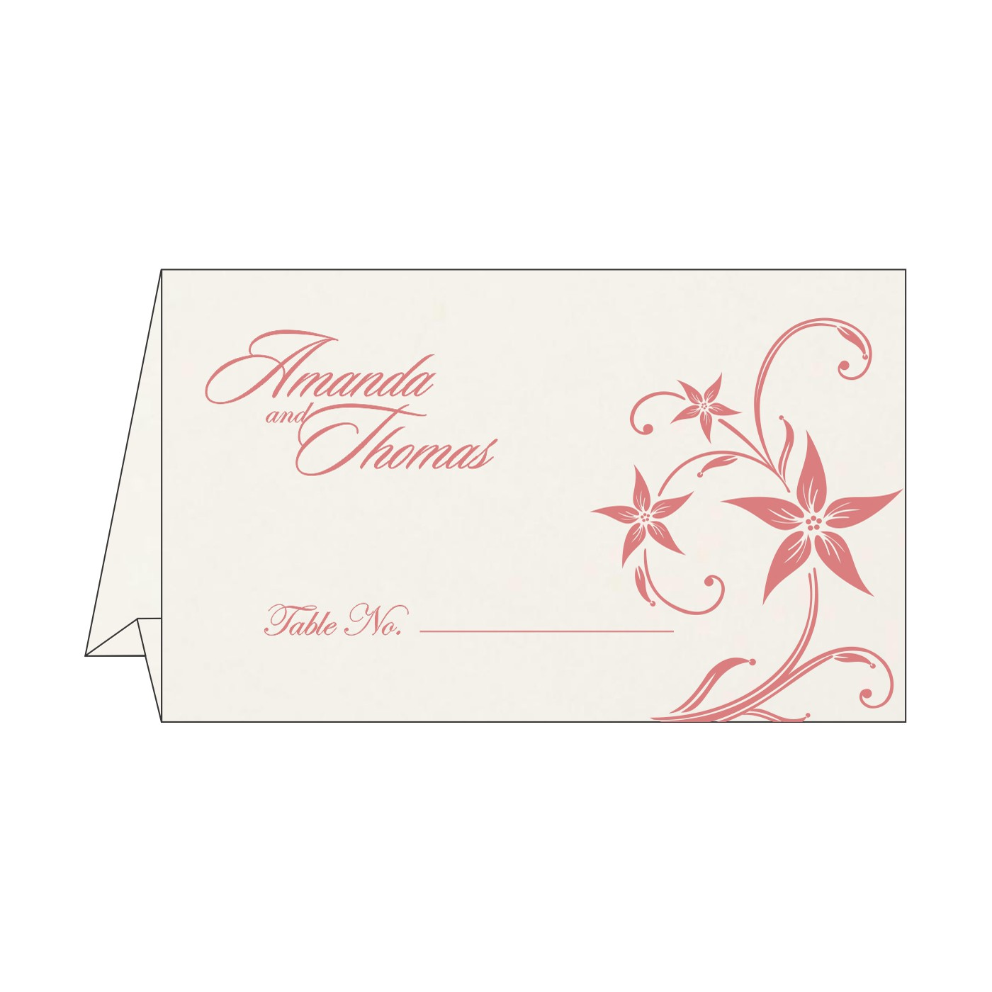 Place Cards : TC-8225M - 123WeddingCards