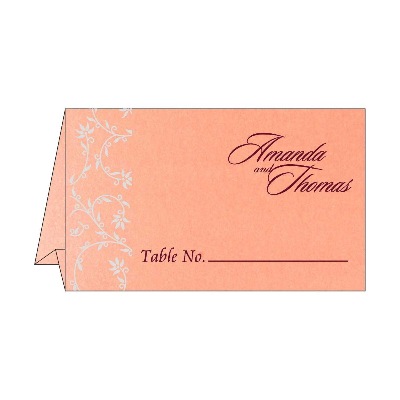 Place Cards : TC-8226B - 123WeddingCards