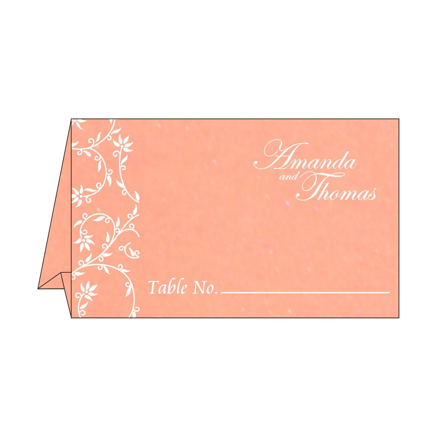 Place Cards : TC-8226K - 123WeddingCards