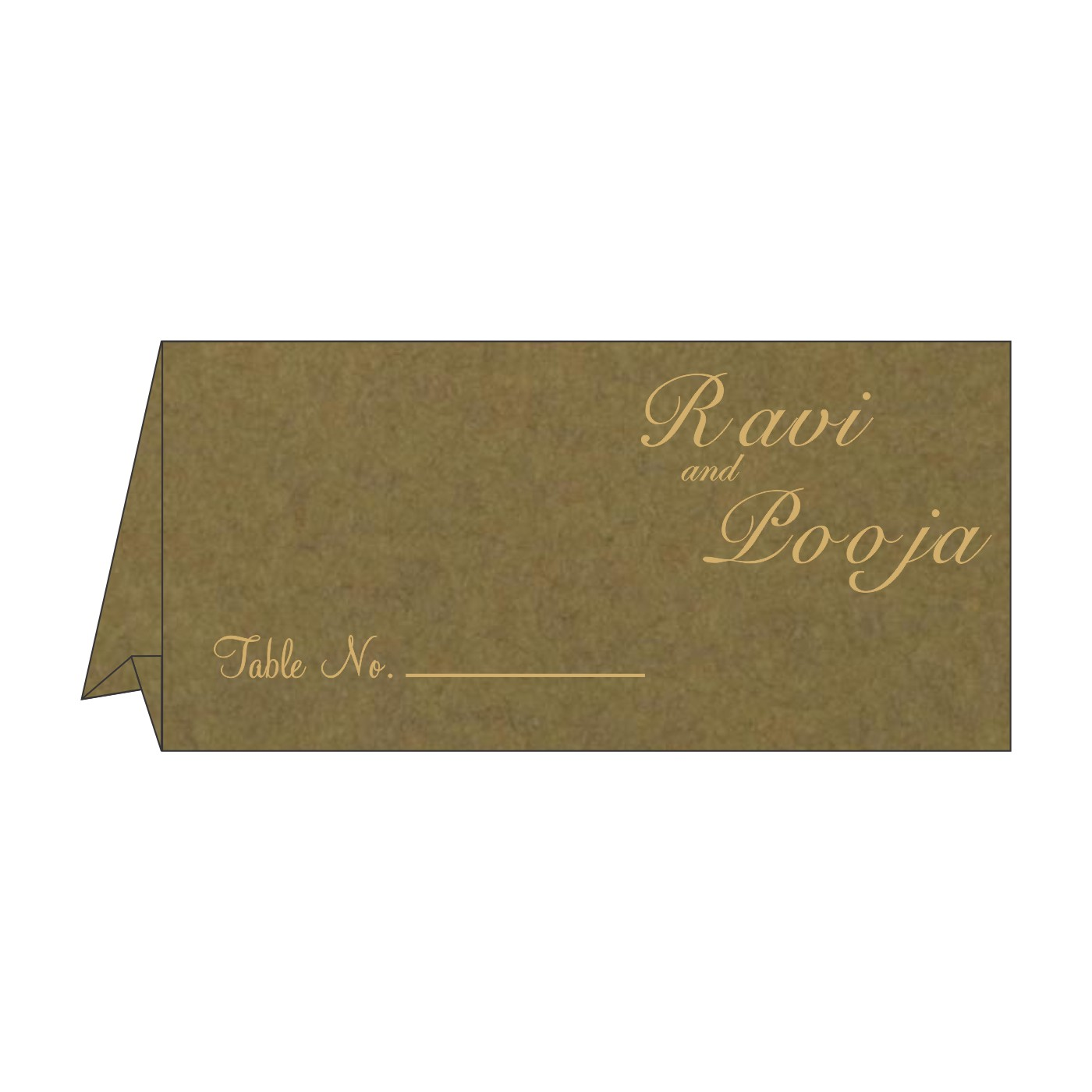 Place Cards : TC-8227F - 123WeddingCards