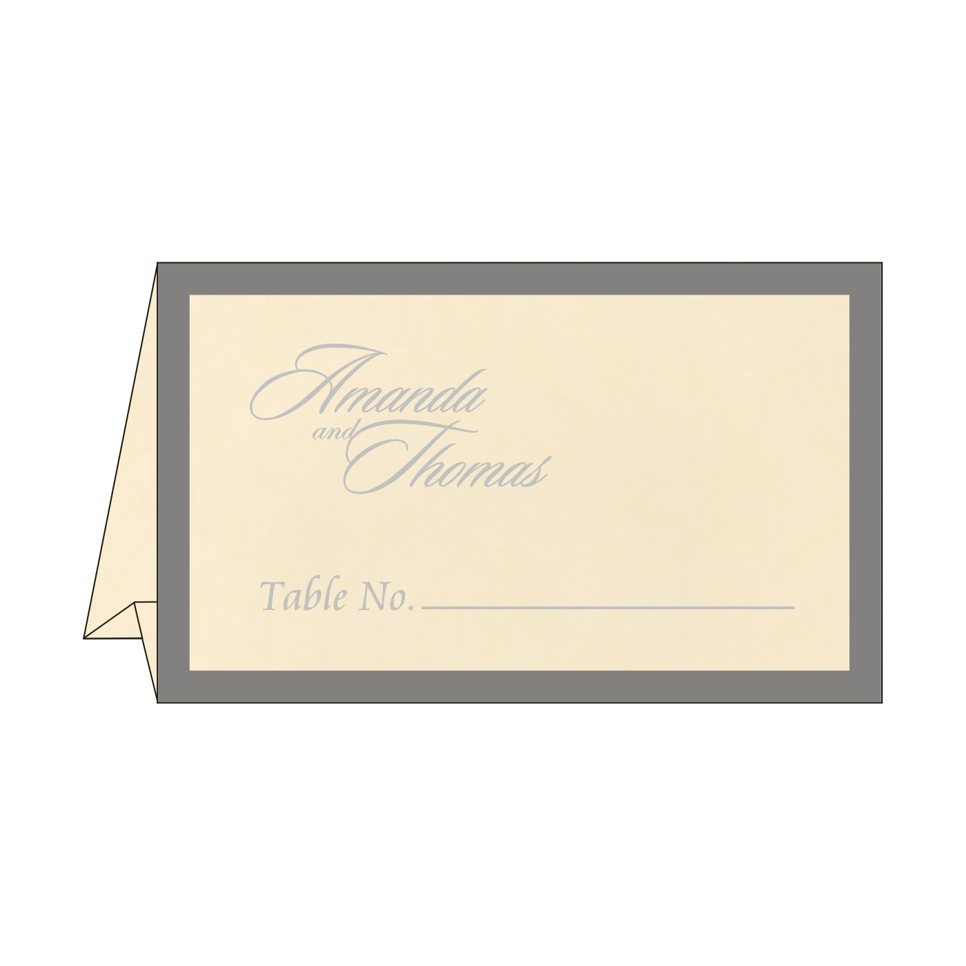 Place Cards : TC-8229B - 123WeddingCards