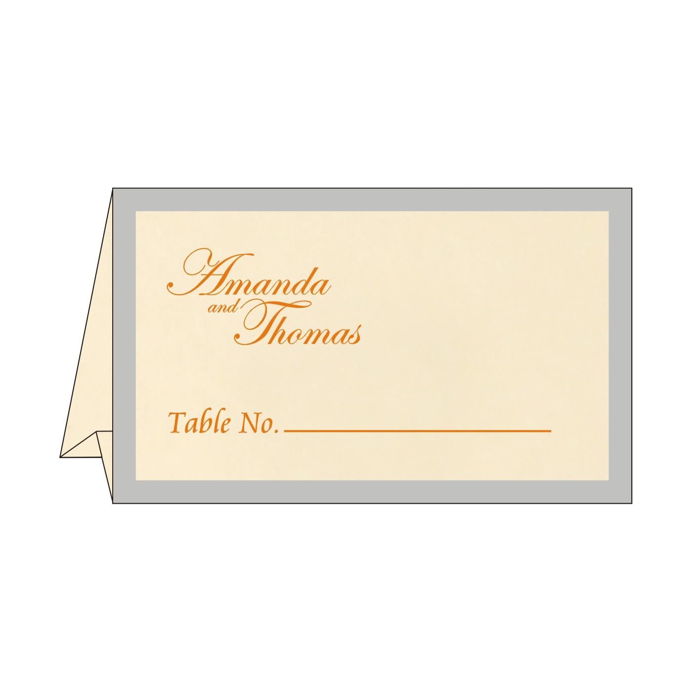Place Cards : TC-8229I - 123WeddingCards
