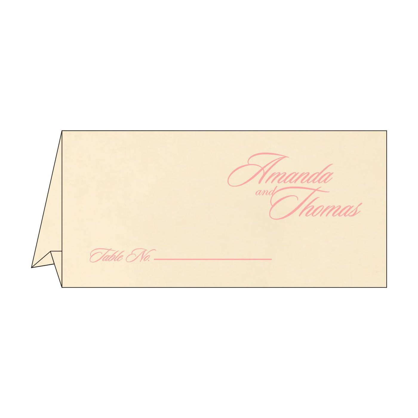 Place Cards : TC-8229Q - 123WeddingCards