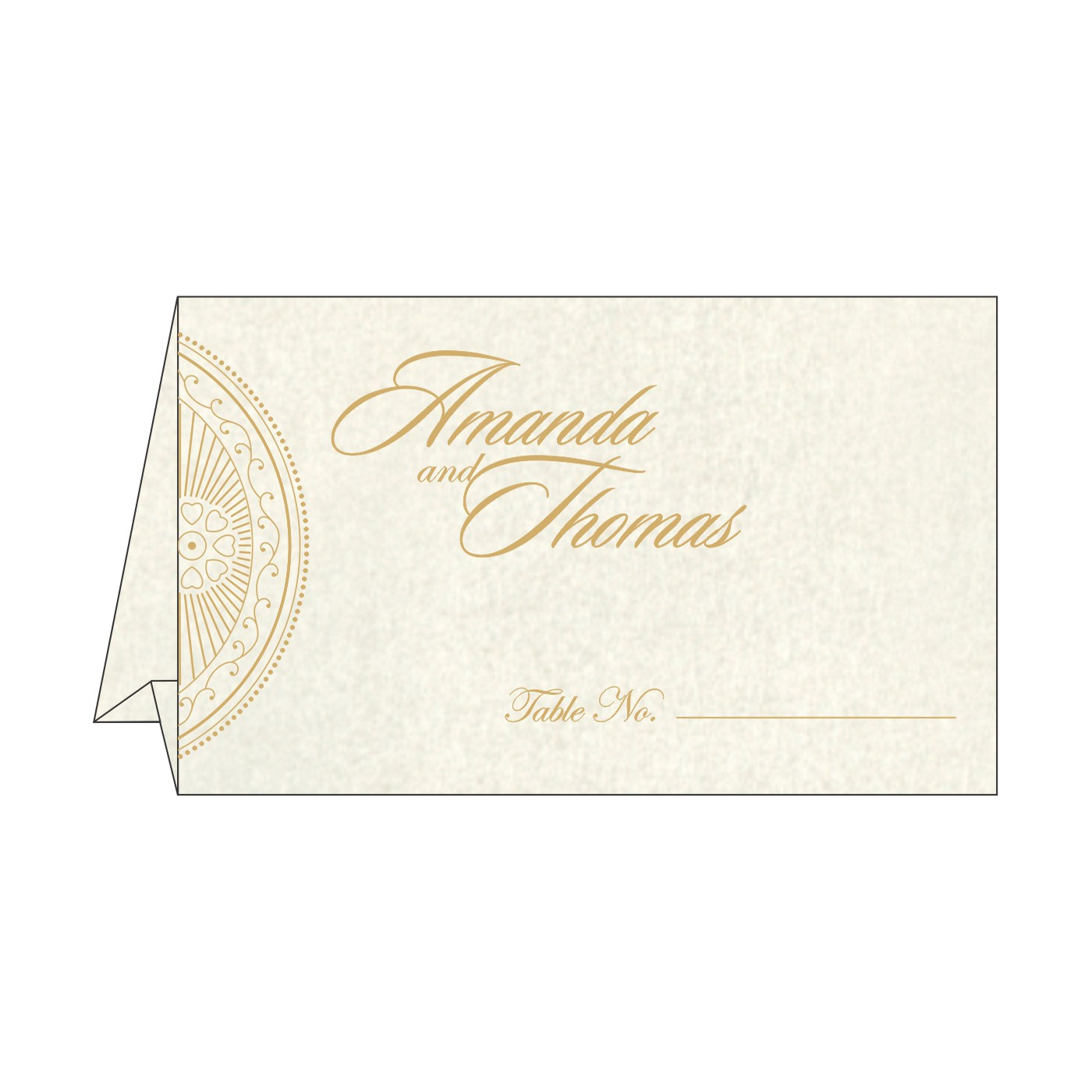 Place Cards : TC-8230O - 123WeddingCards