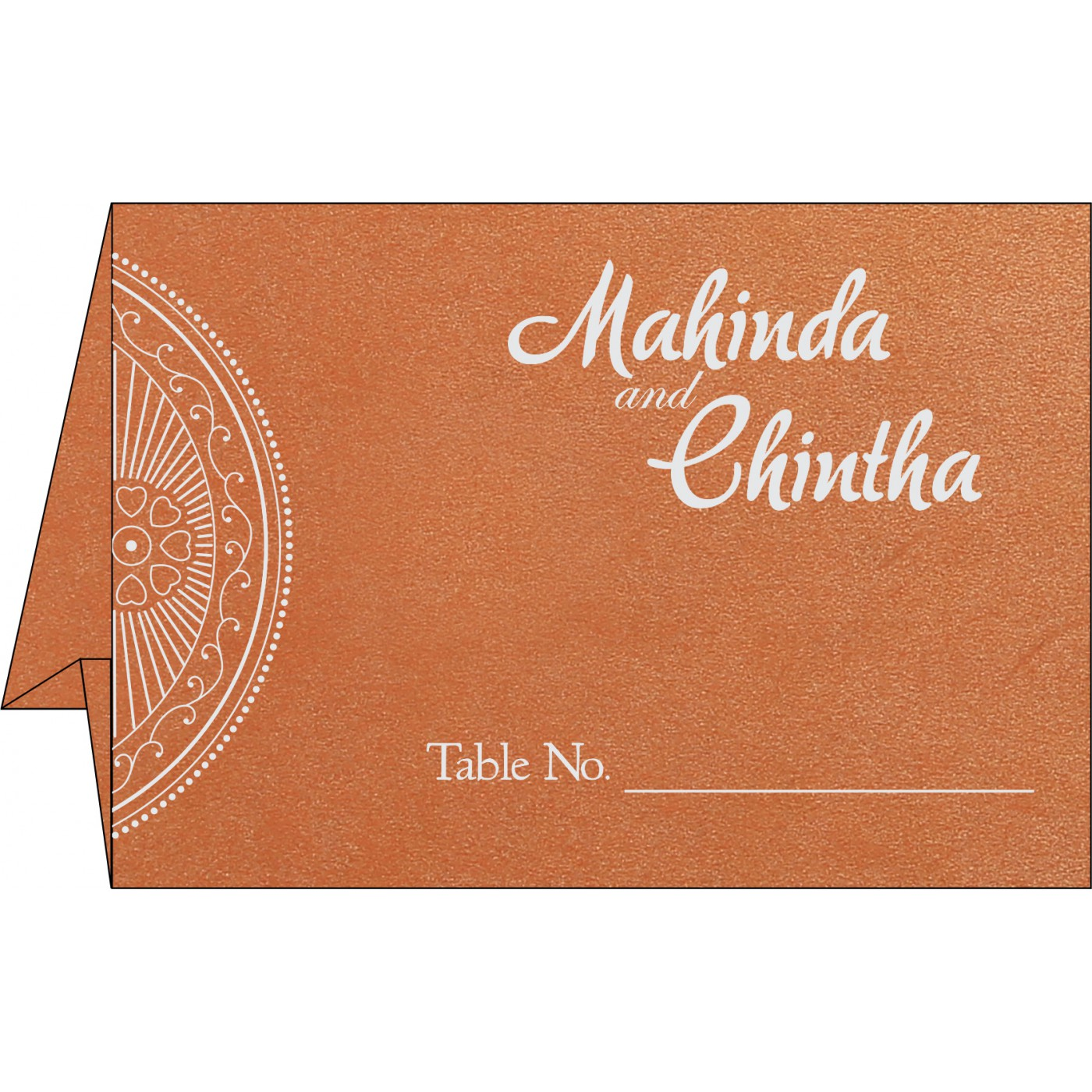 Place Cards : TC-8230T - 123WeddingCards