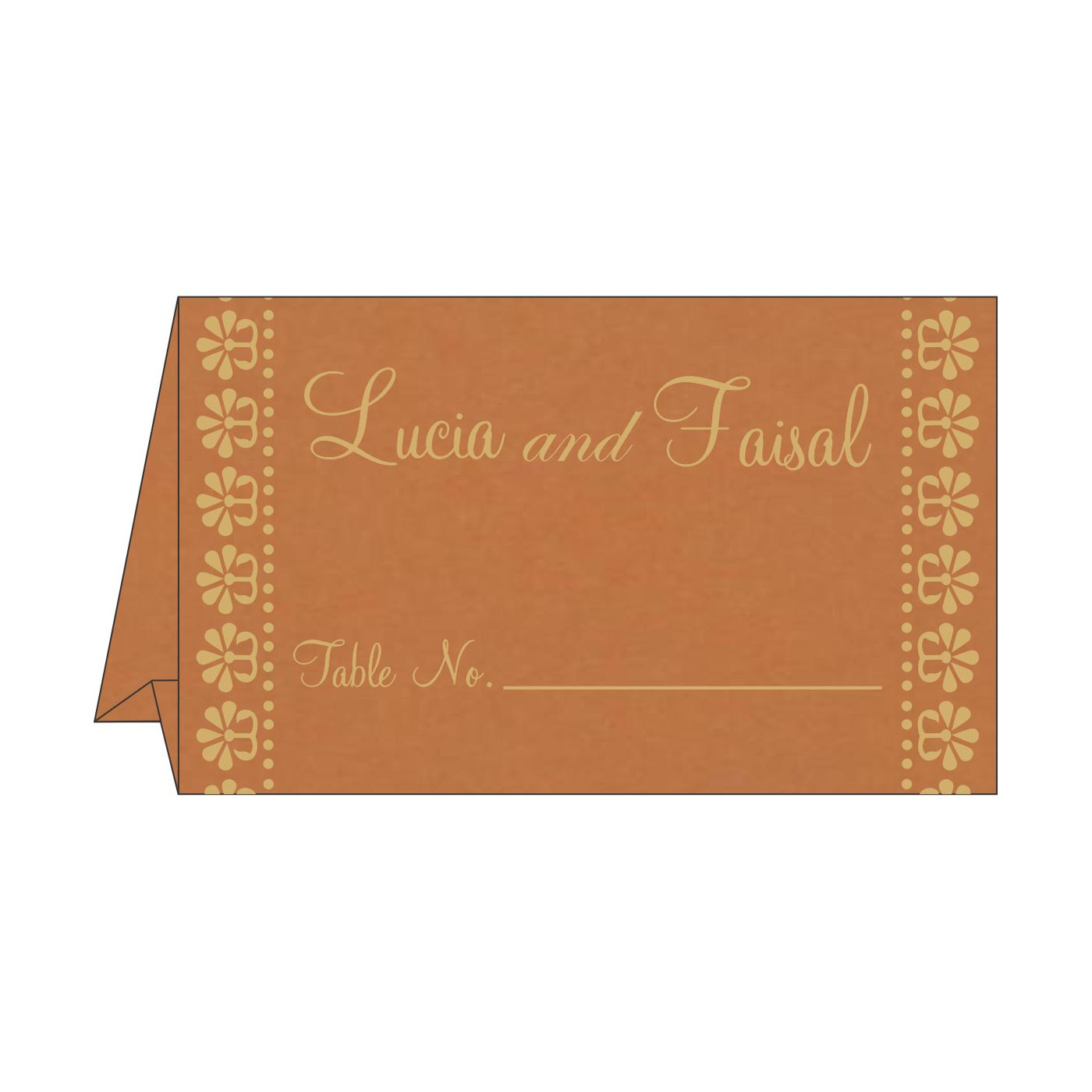 Place Cards : TC-8231H - 123WeddingCards