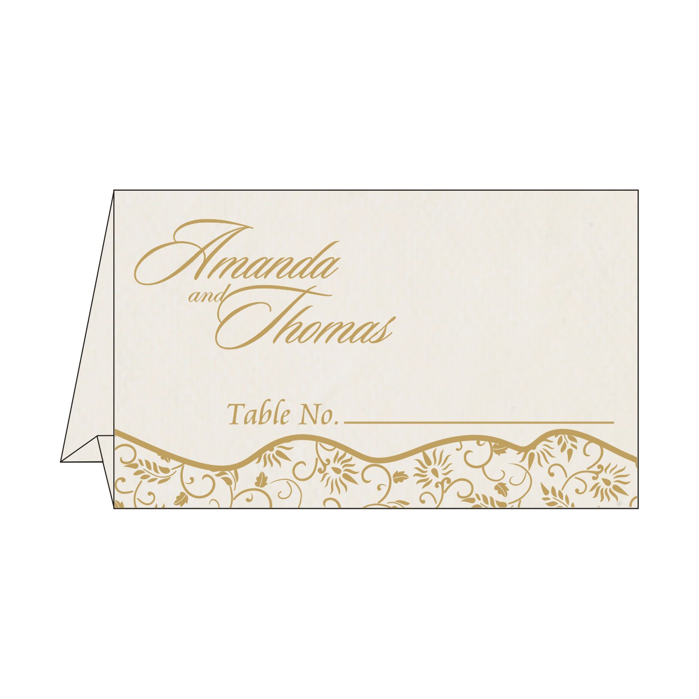 Place Cards : TC-8236B - 123WeddingCards