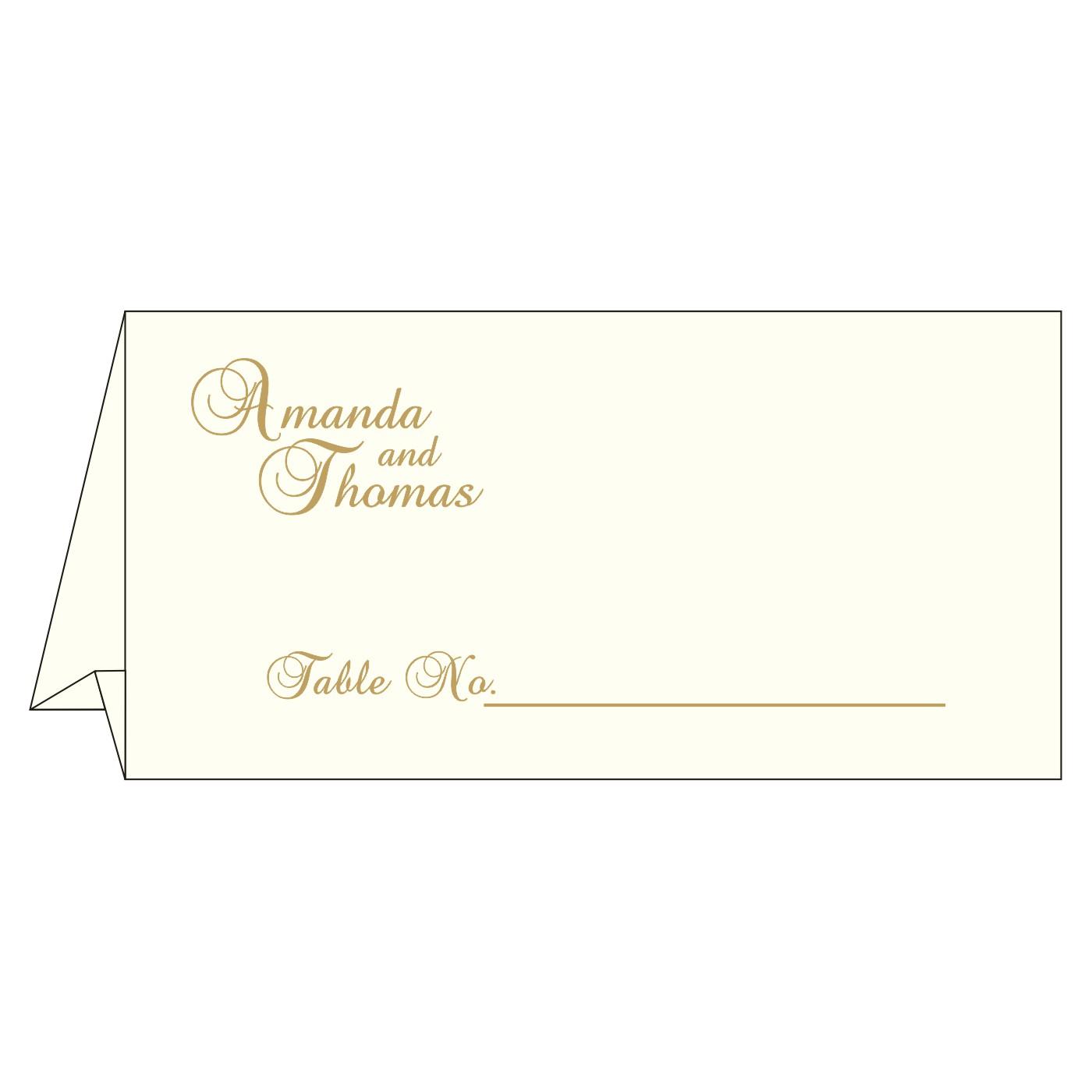 Place Cards : TC-8237E - 123WeddingCards